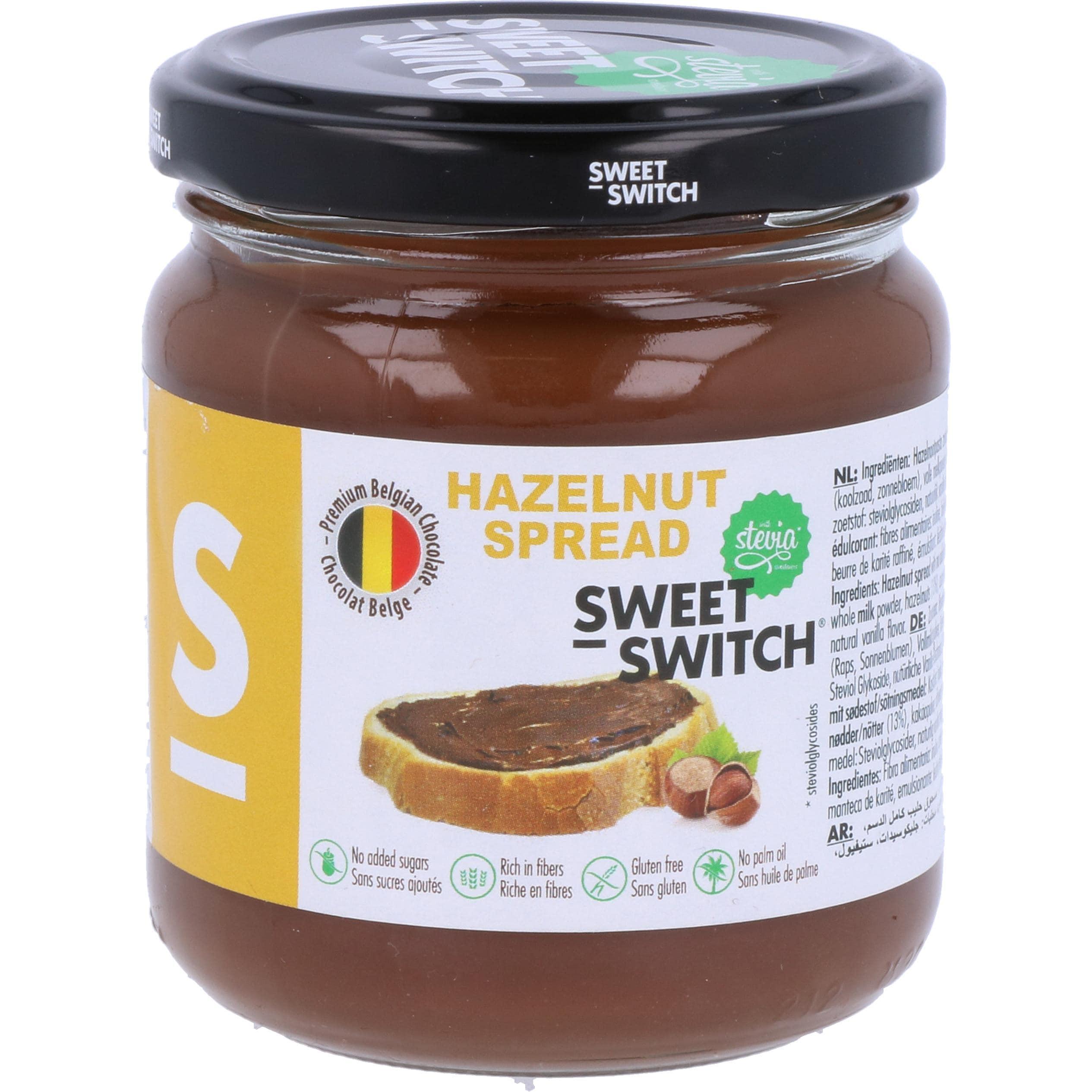 Sweet Switch Haselnuss Aufstrich 200g