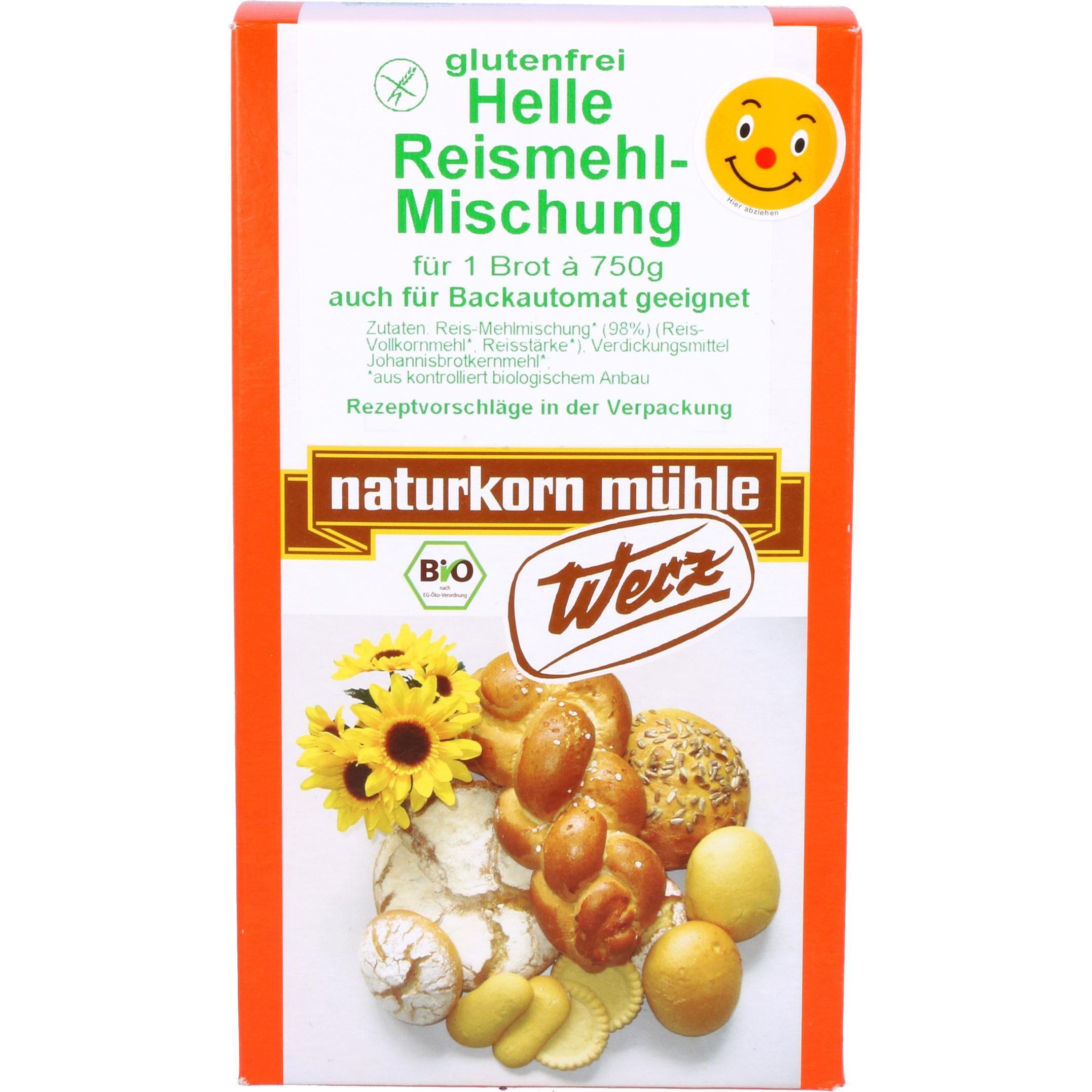 Werz Bio Helle Reismehl Mischung 1kg