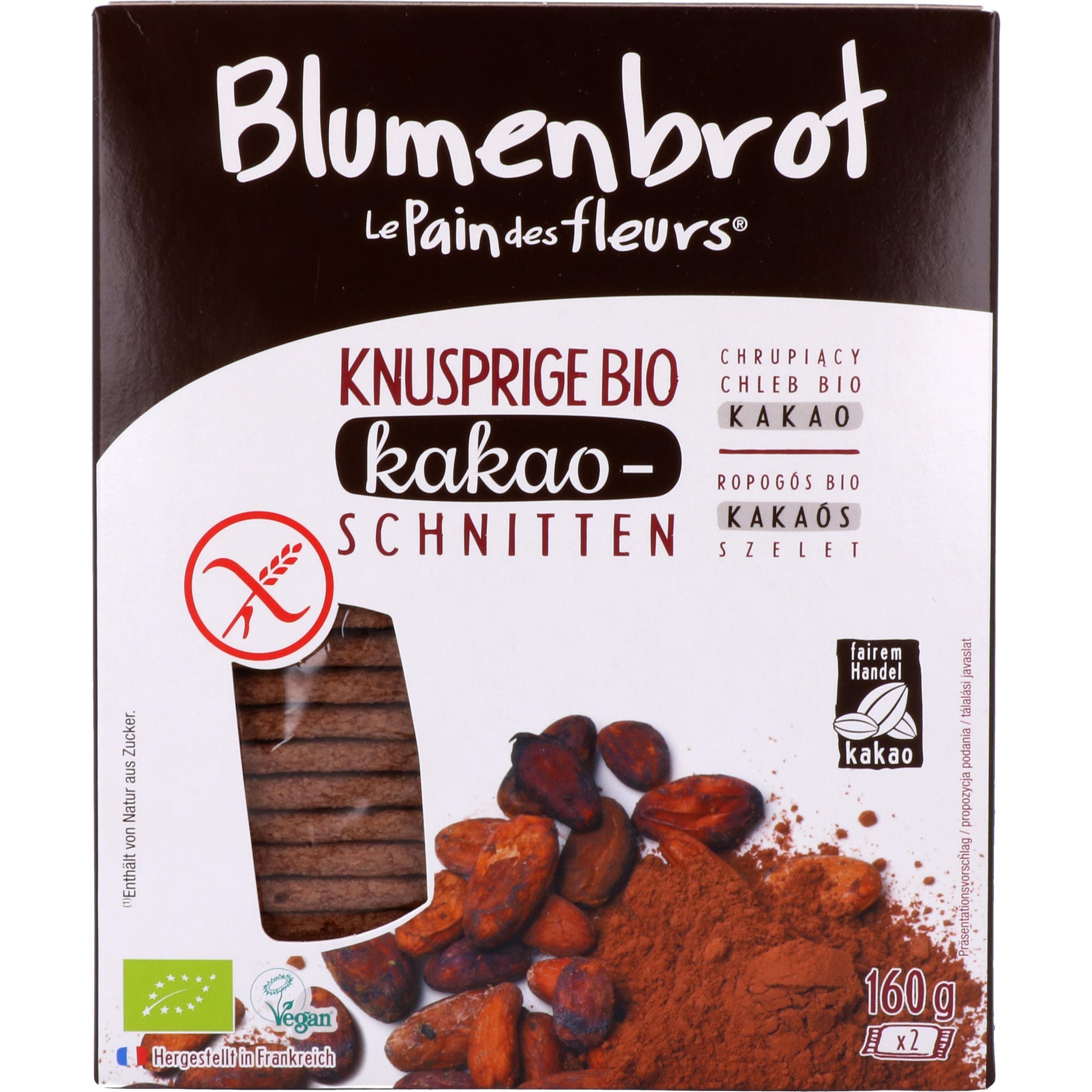 Primeal Bio Blumenbrot Kakao 160g