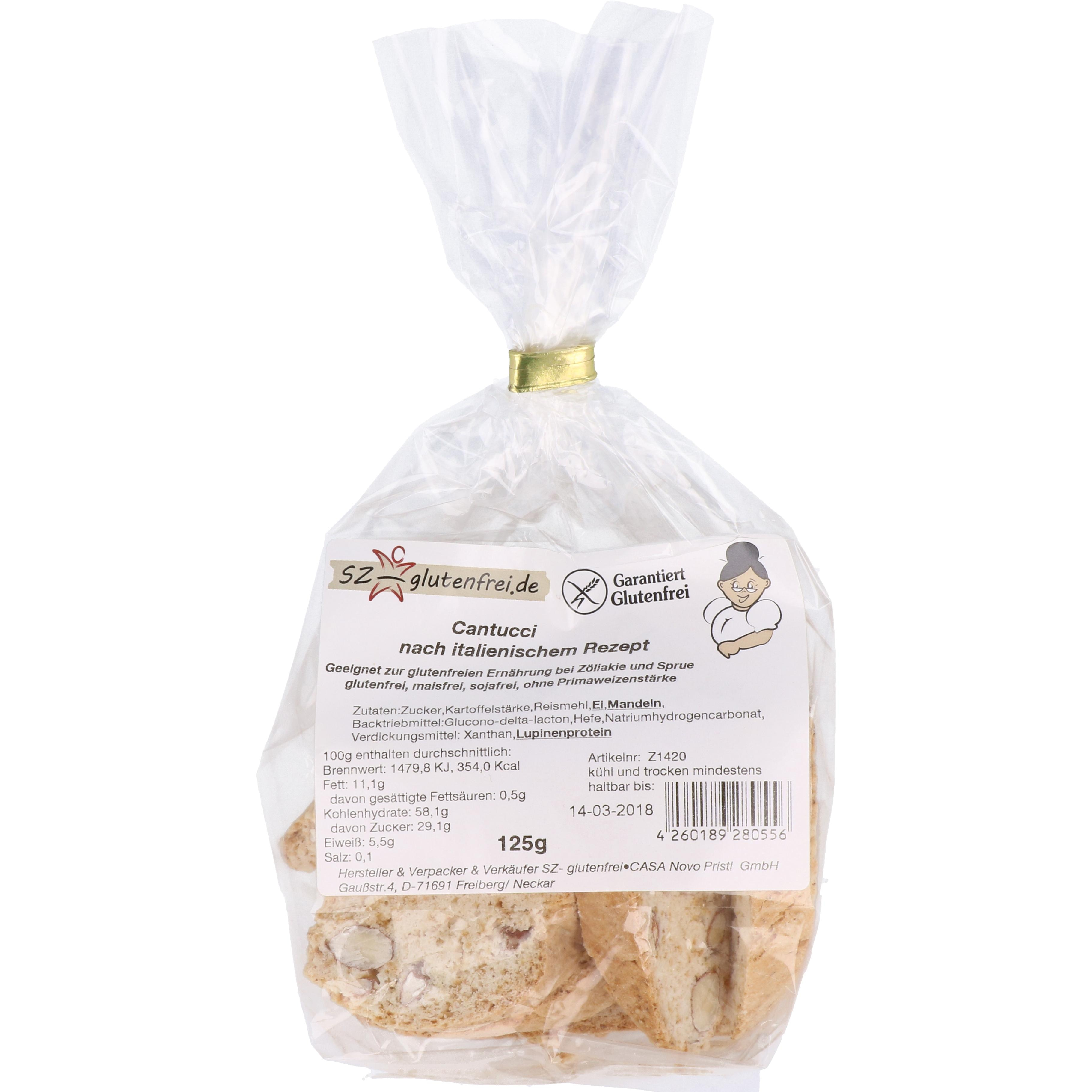 Panista Cantucci 125g