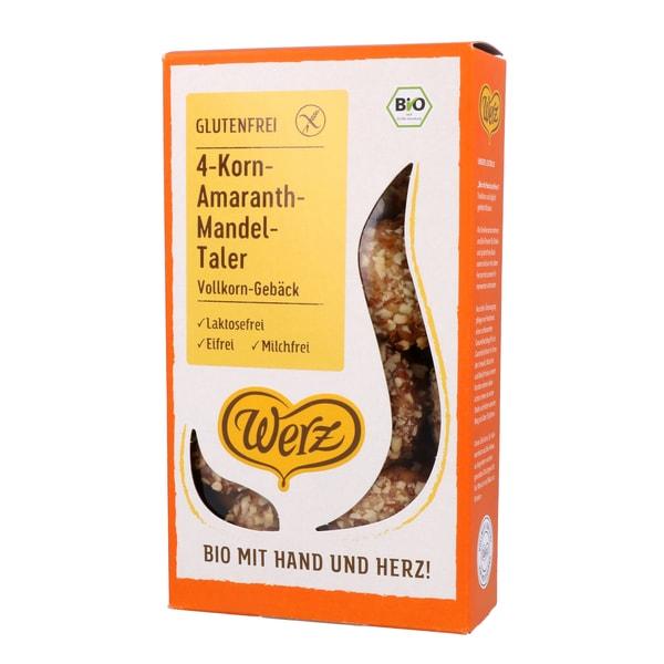 Werz Bio 4-Korn Amaranth Mandel-Taler 125g
