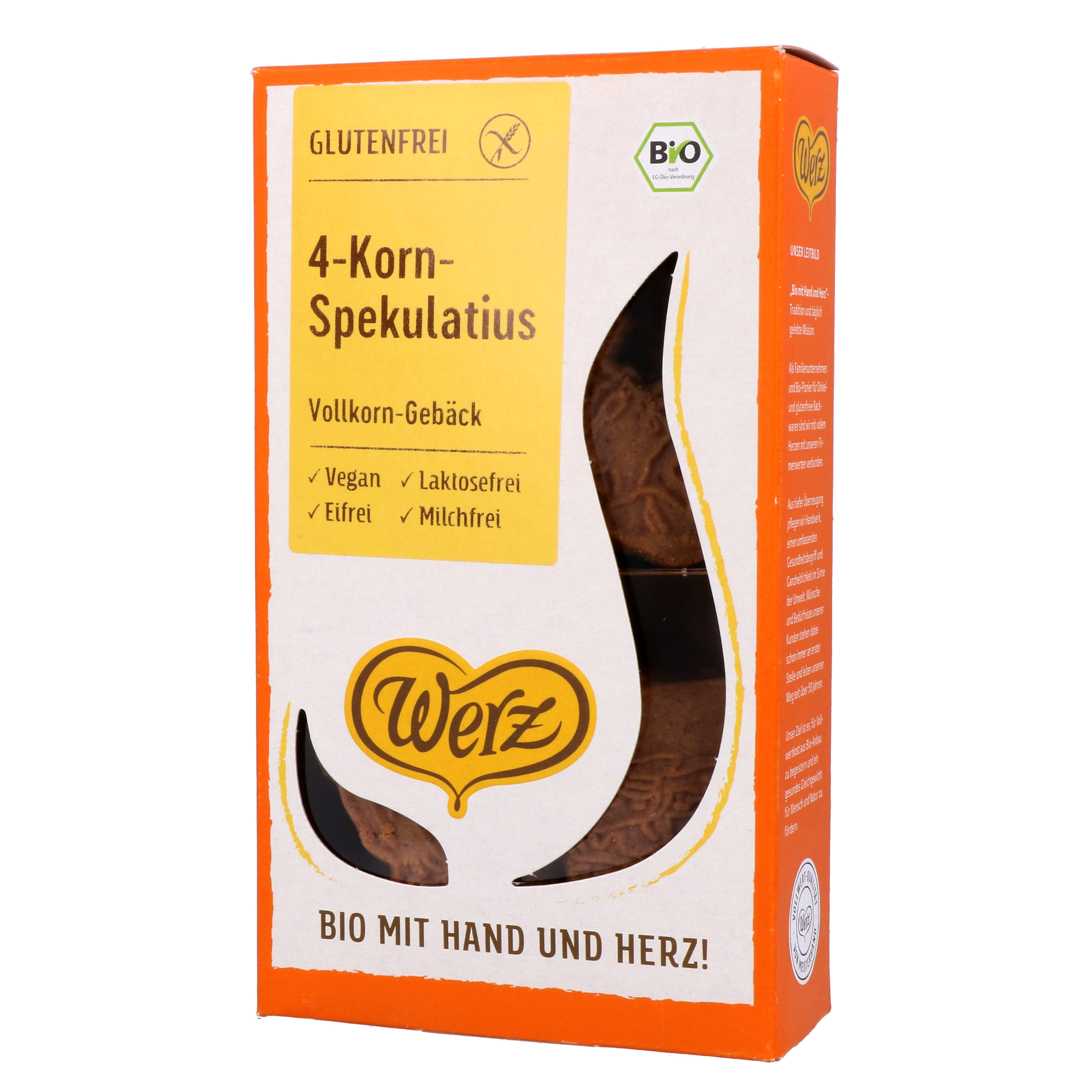 Werz Bio 4-Korn Spekulatius 125g