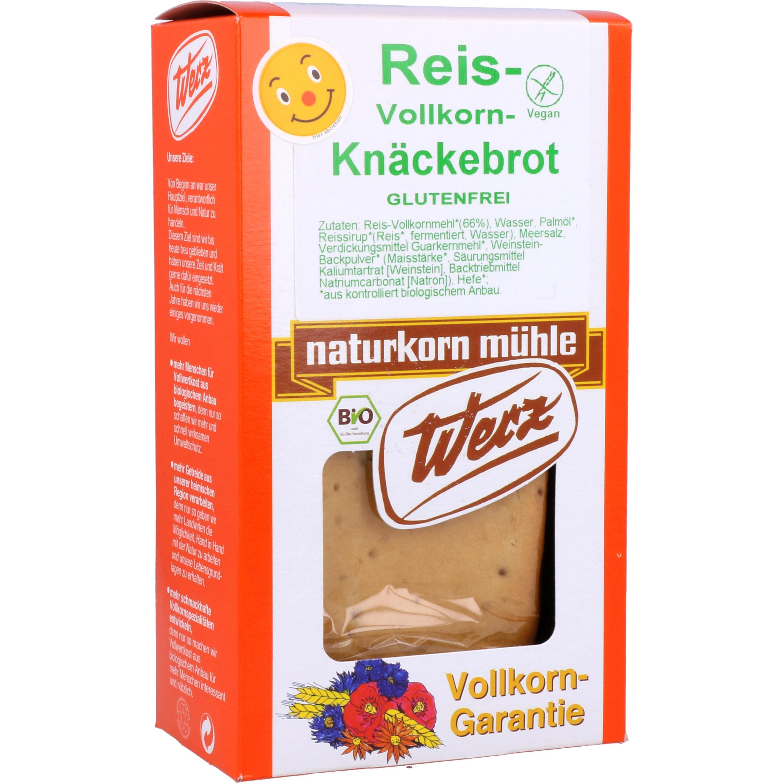 Werz Bio Reis Vollkorn Knäckebrot 150g
