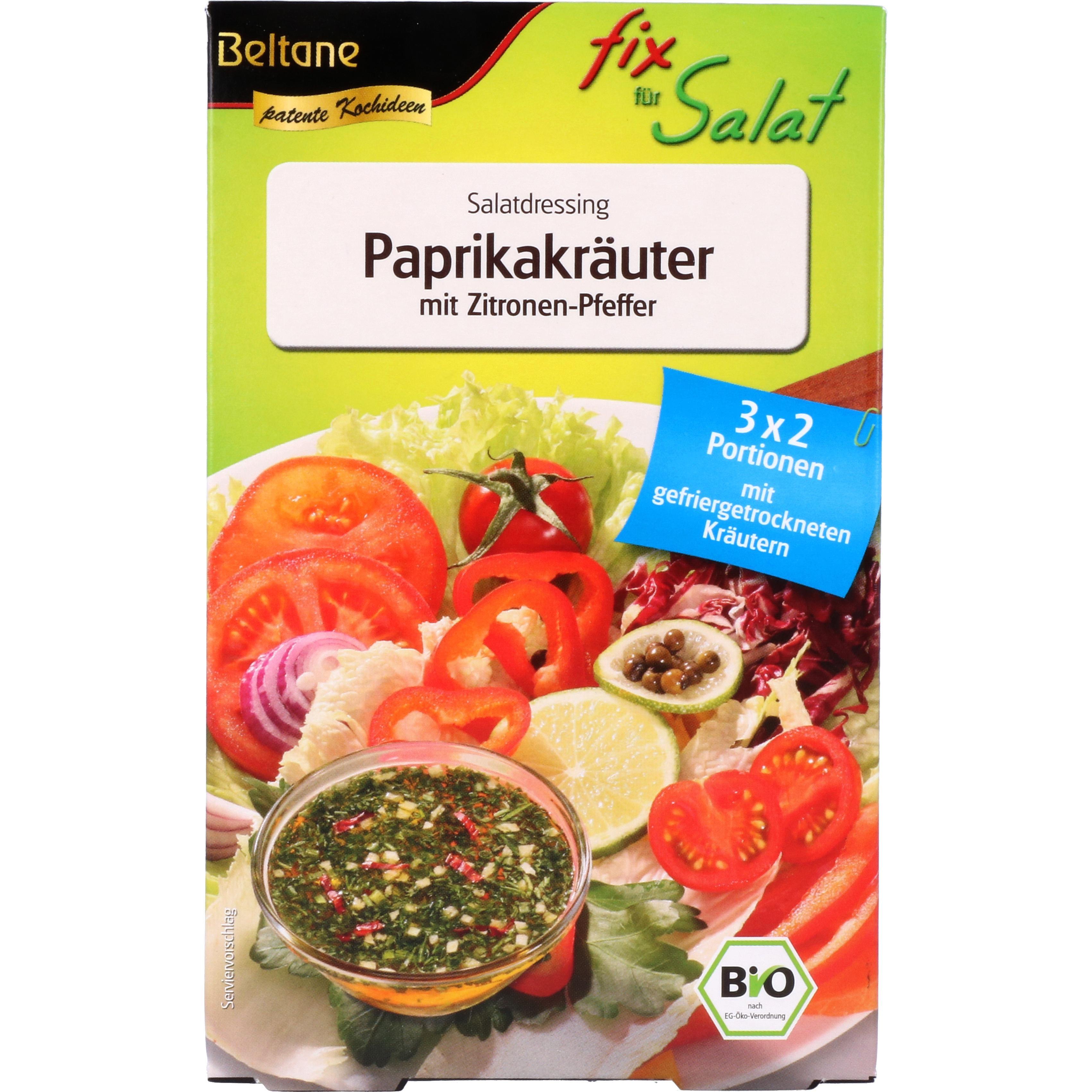Beltane Bio Salat Fix - Salatdressing Paprikakräuter 30g