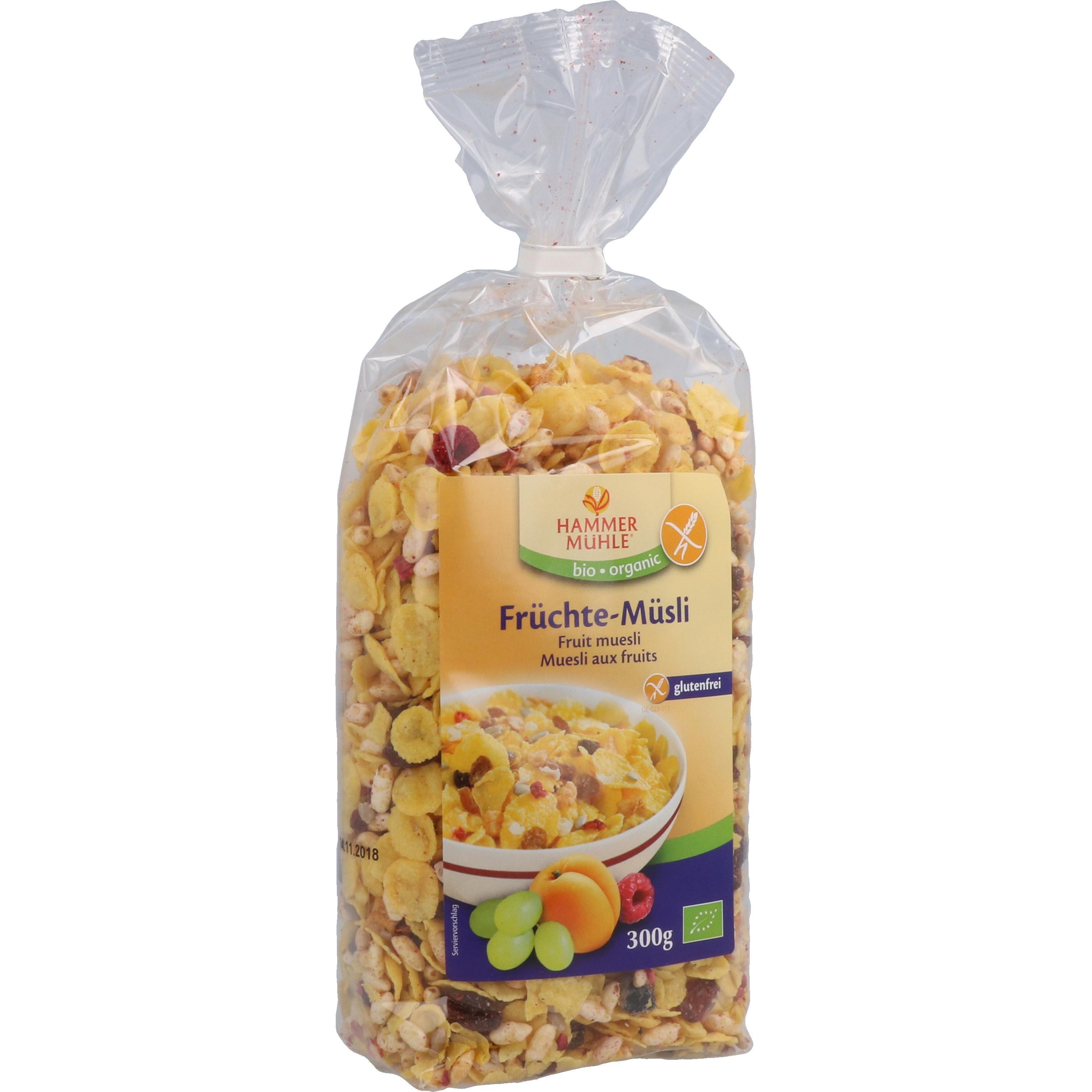 Hammermühle Organic Bio Früchte-Müsli 300g