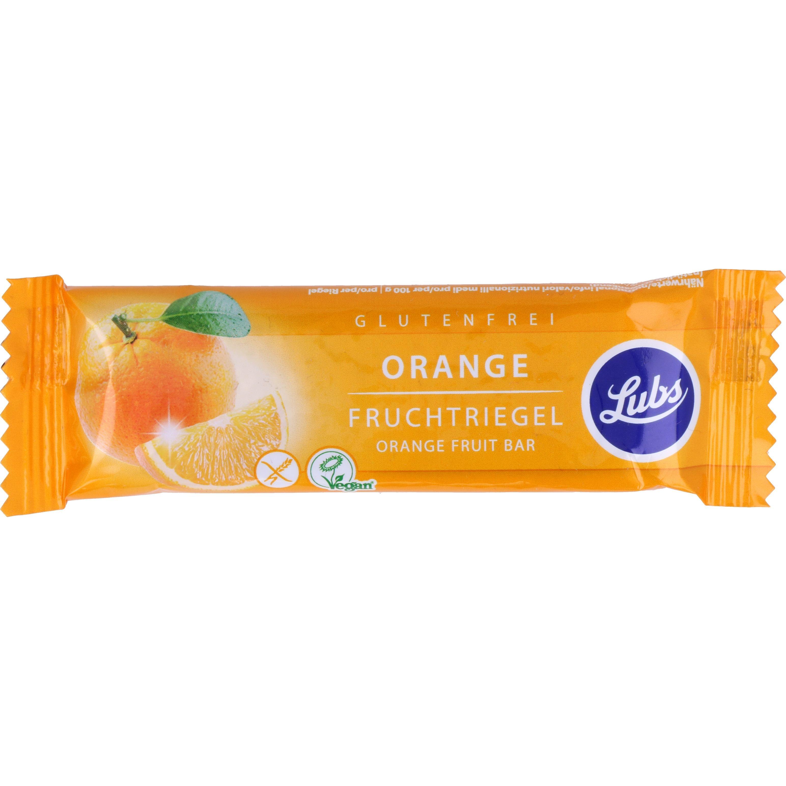 Lubs Bio Orange Fruchtriegel 30g
