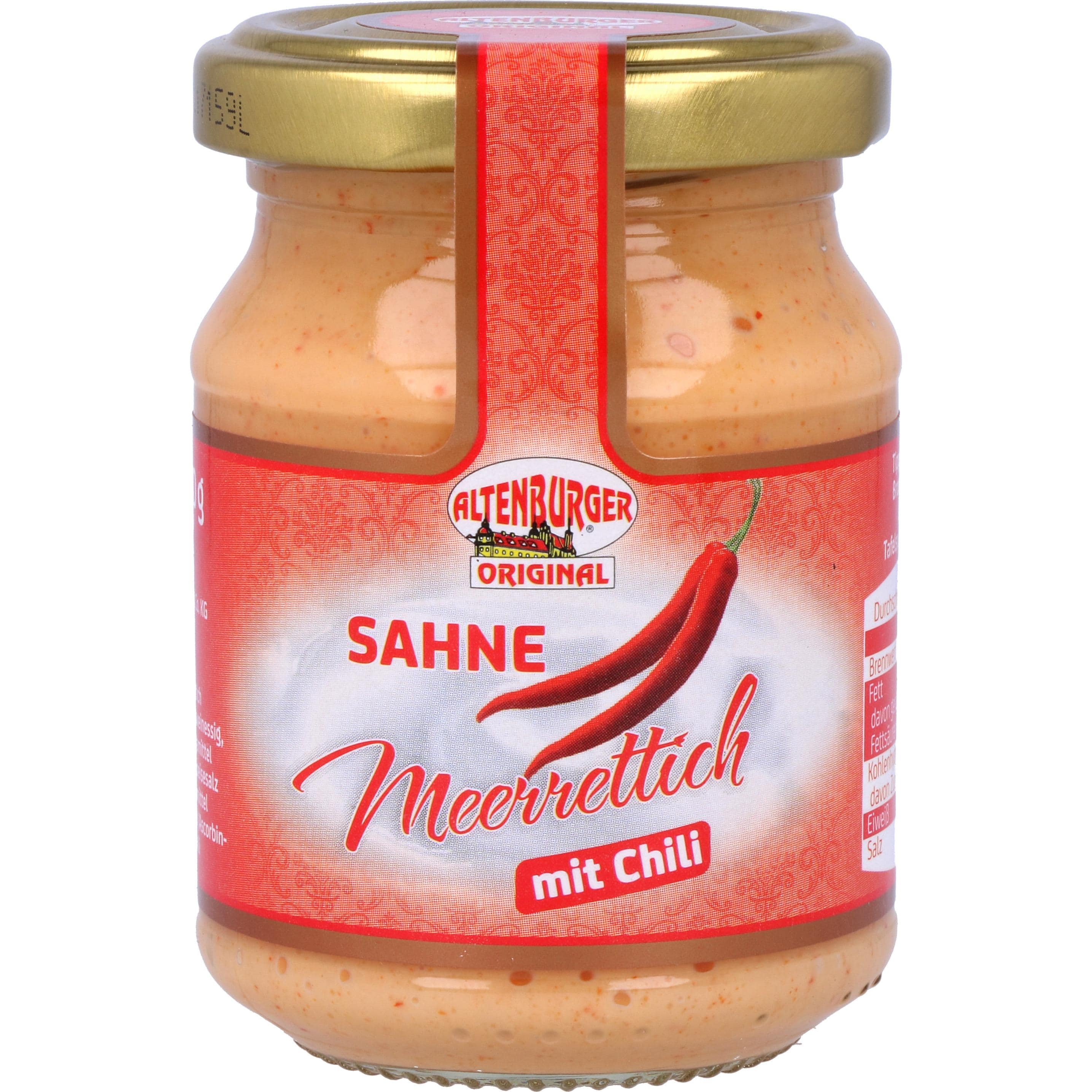 Altenburger Sahne Meerrettich mit Chili 140g