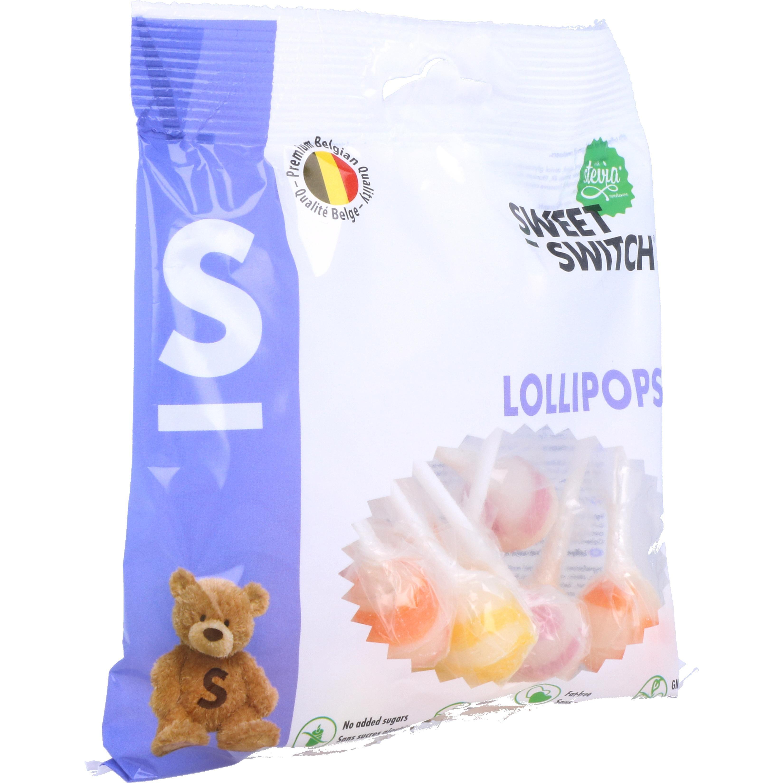 Sweet Switch Lollipops 100g