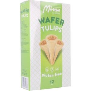 Miran Wafer Tulips - Eiswaffeln Tulpen 48g