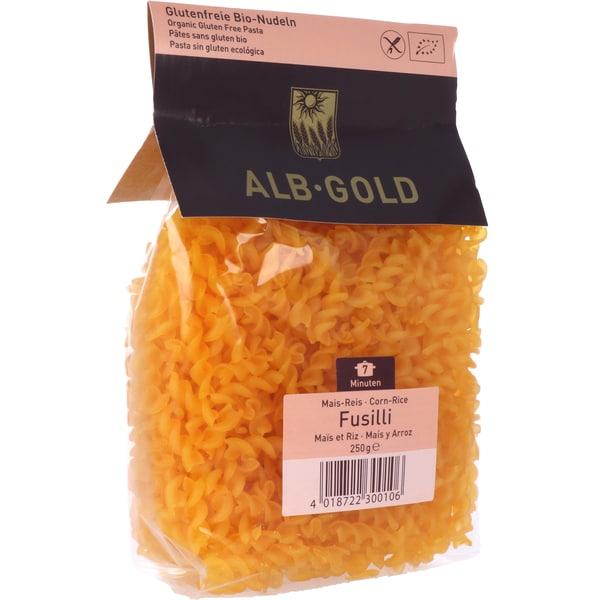 ALB-GOLD Bio Mais-Reis-Fusilli 250g