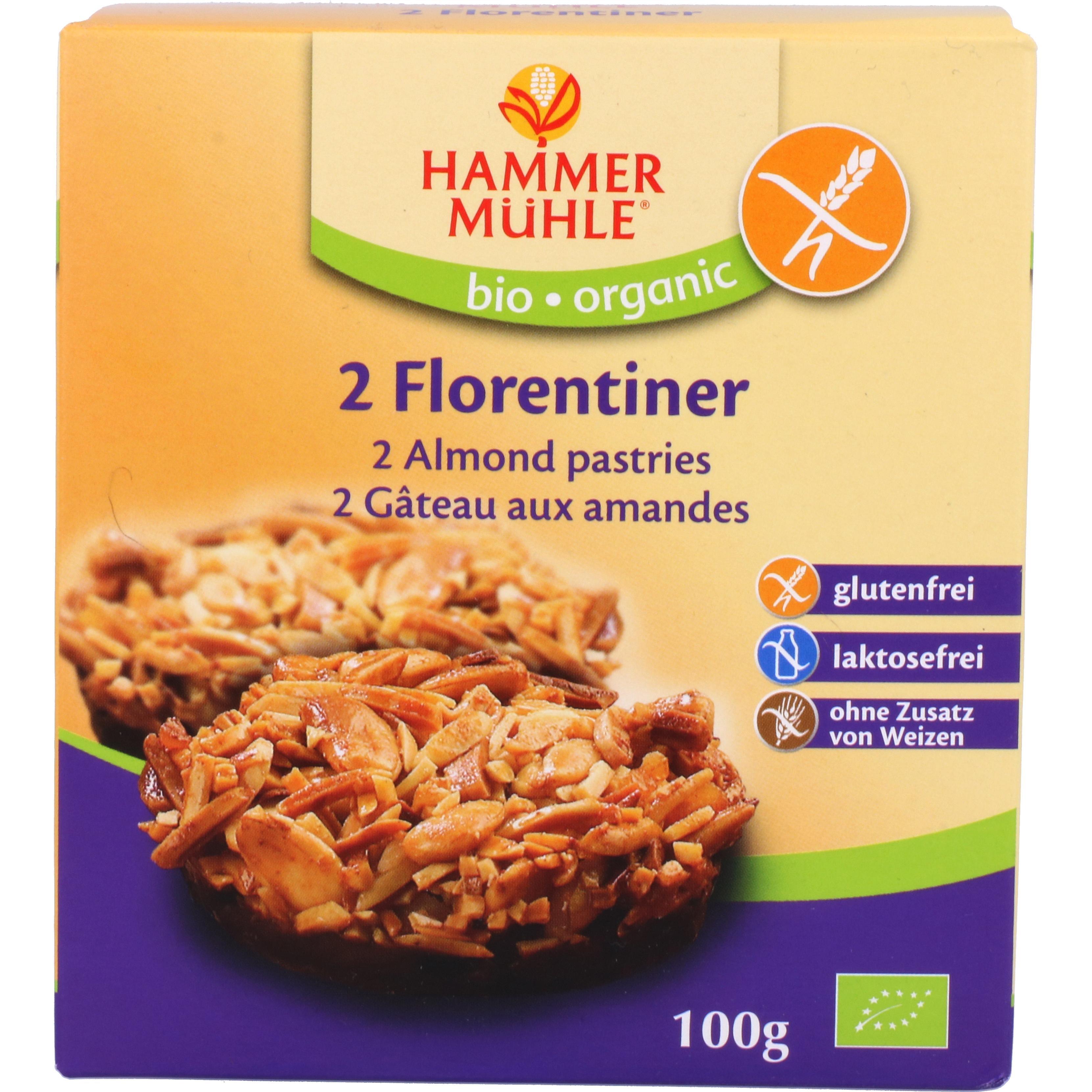 Hammermühle Organic Bio 2 Florentiner 100g