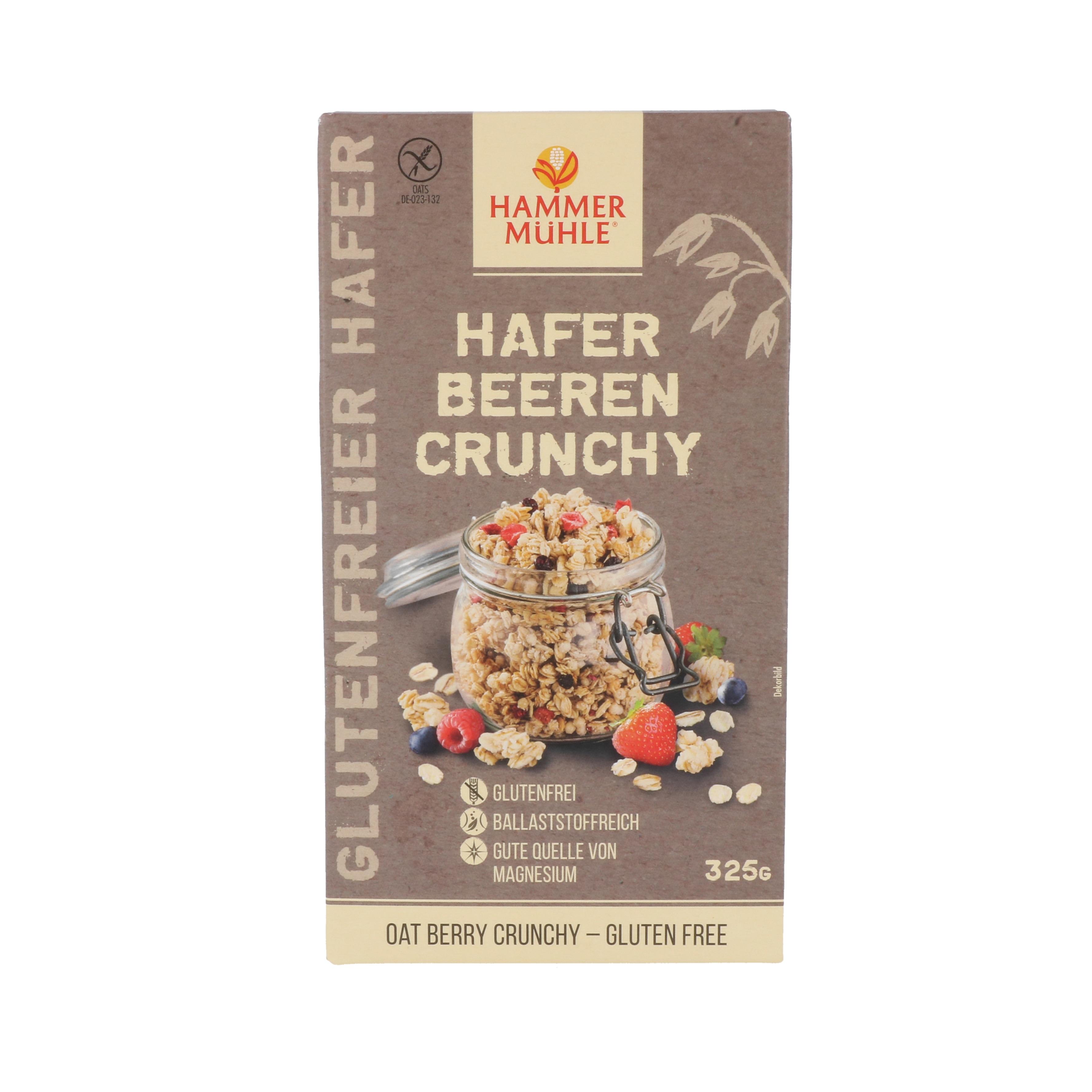 Hammermühle Hafer Beeren Crunchy 325g