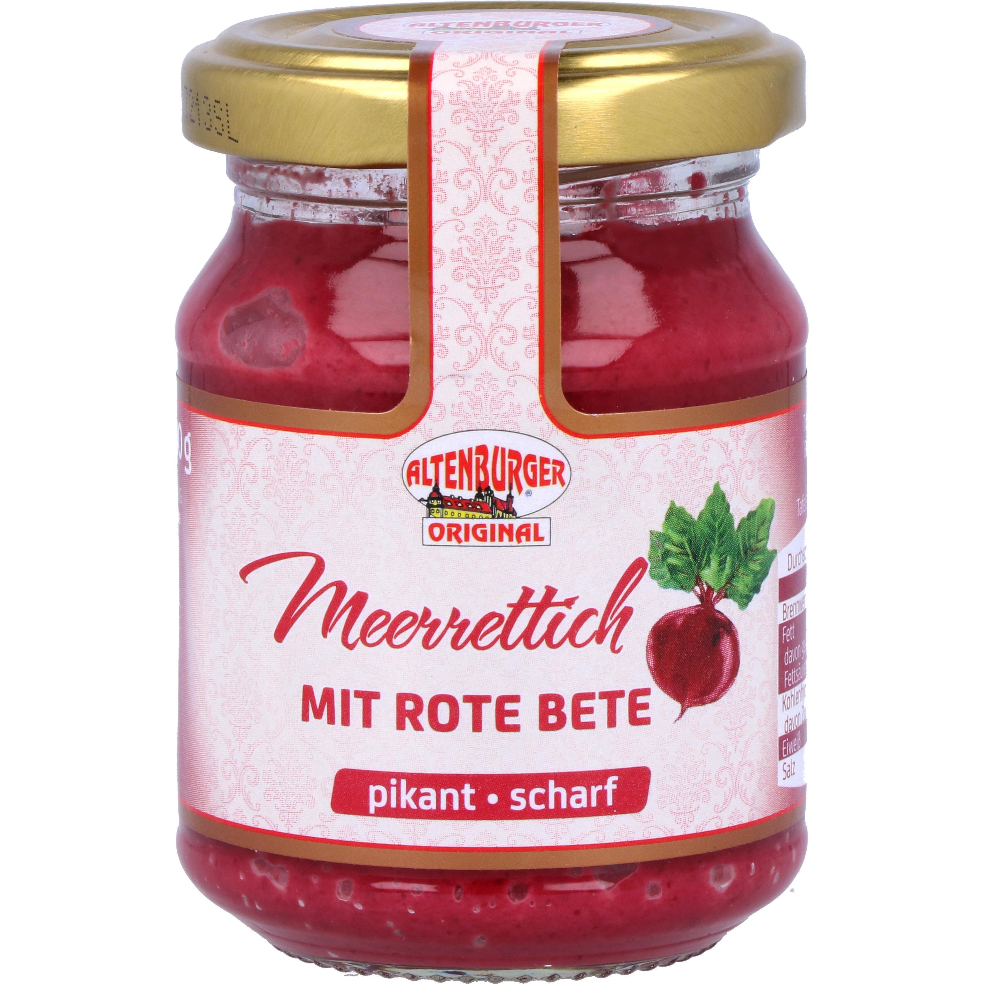 Altenburger Meerrettich mit Rote Bete 140g