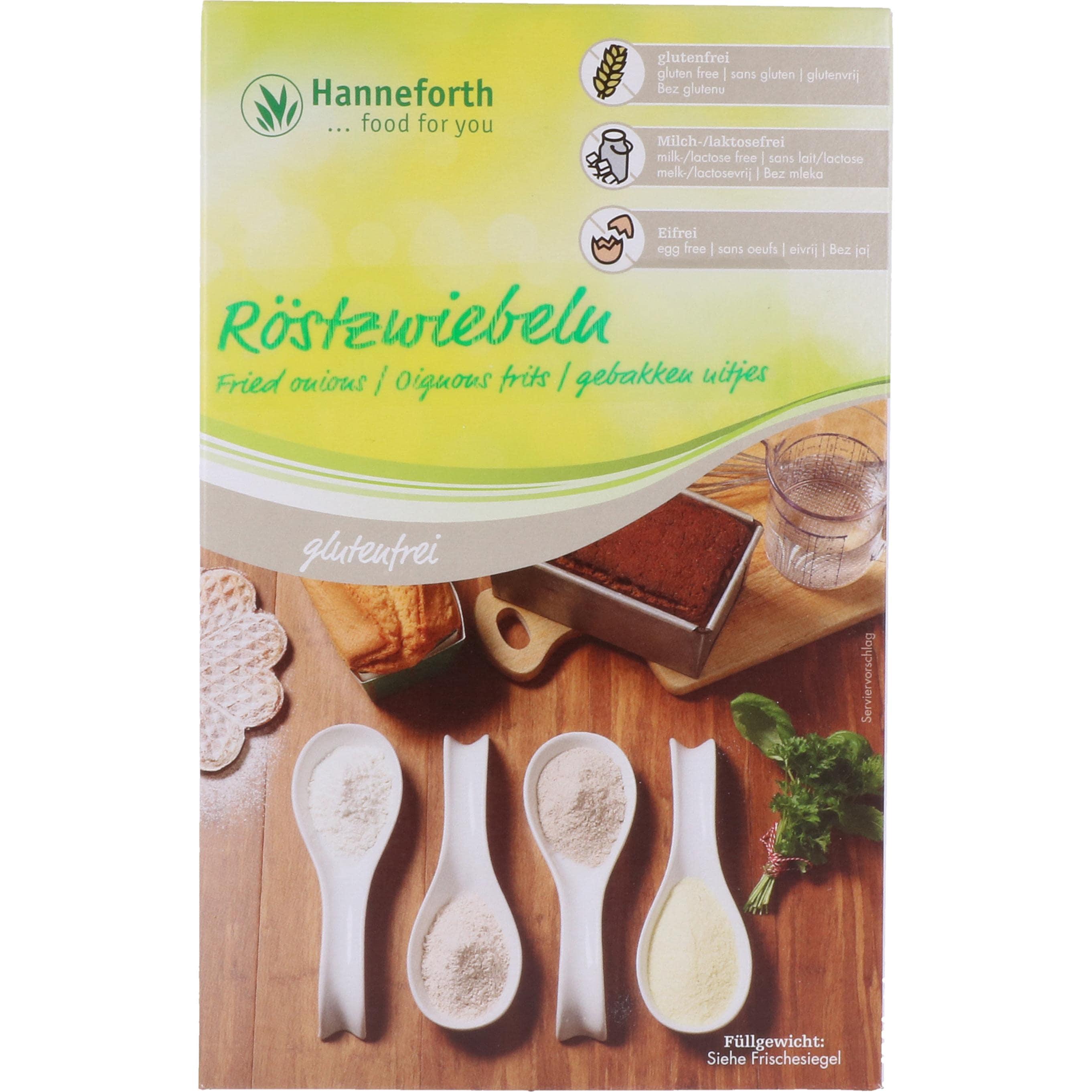 Hanneforth, food for you Röstzwiebeln 250g