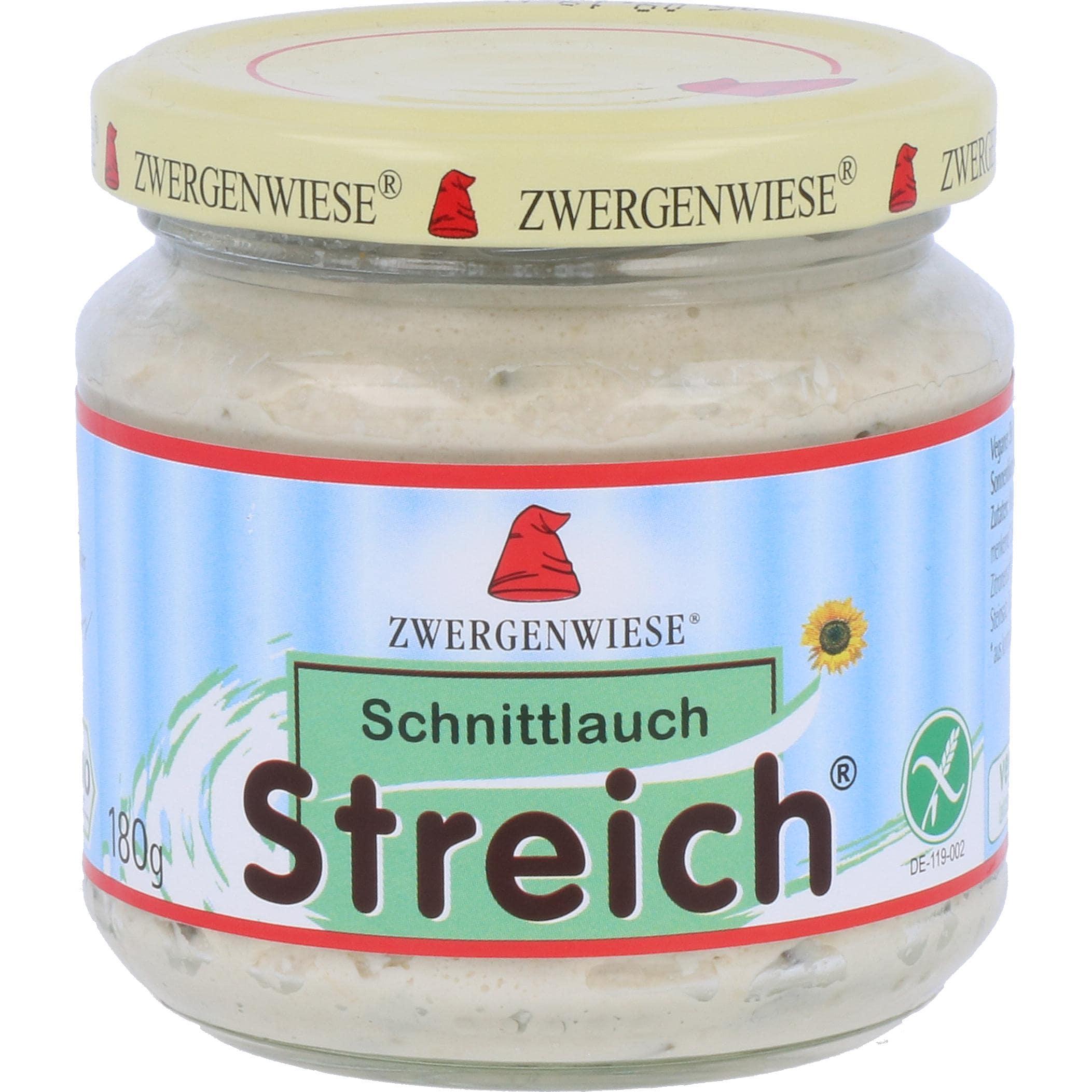 Zwergenwiese Bio Schnittlauch Streich 180g