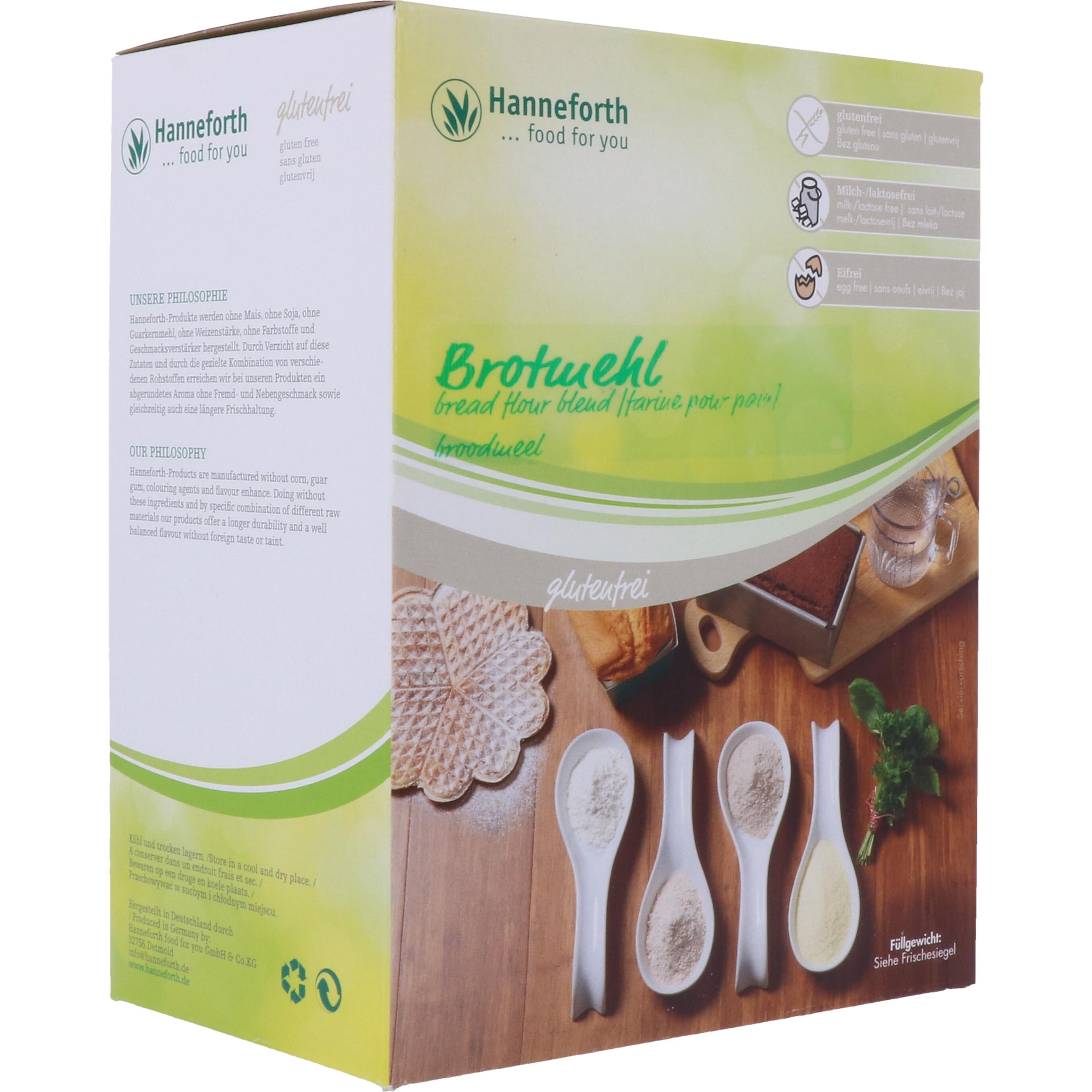 Hanneforth food for you Brotmehl 1,5kg