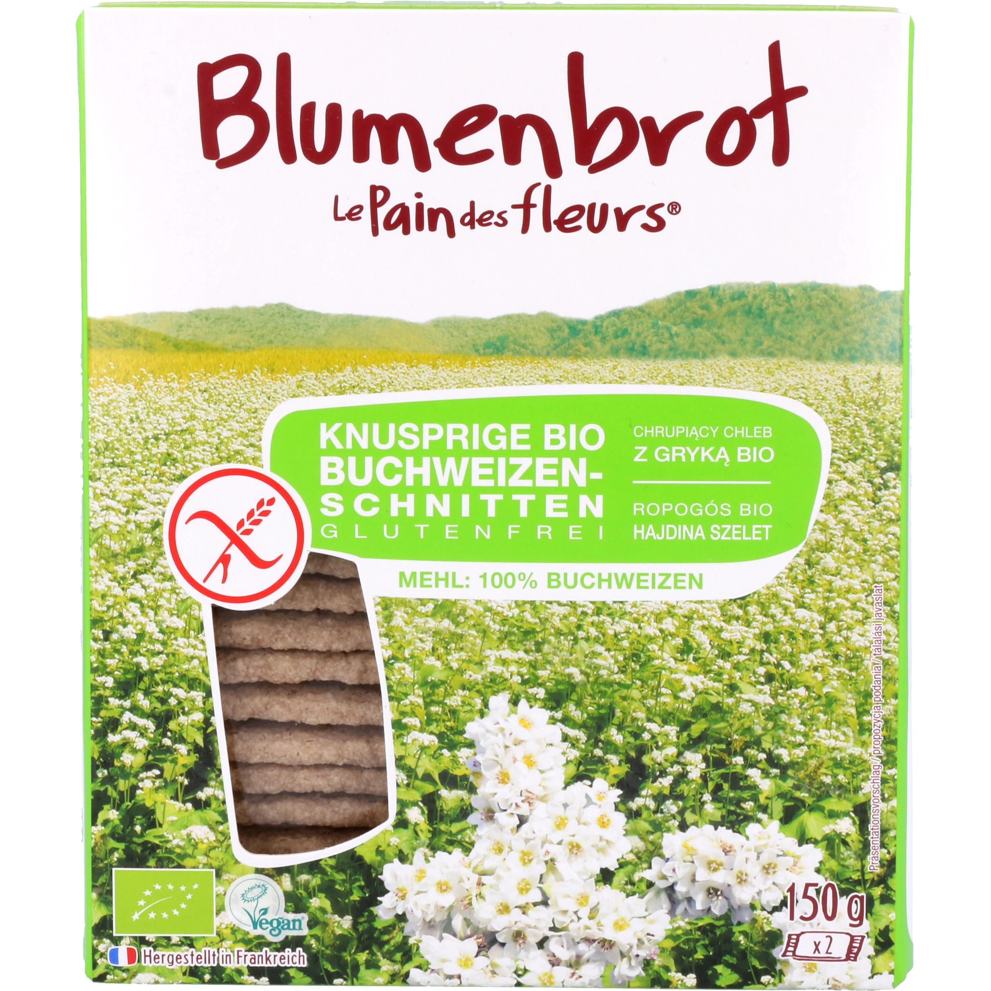Primeal Bio Blumenbrot Buchweizen 150g