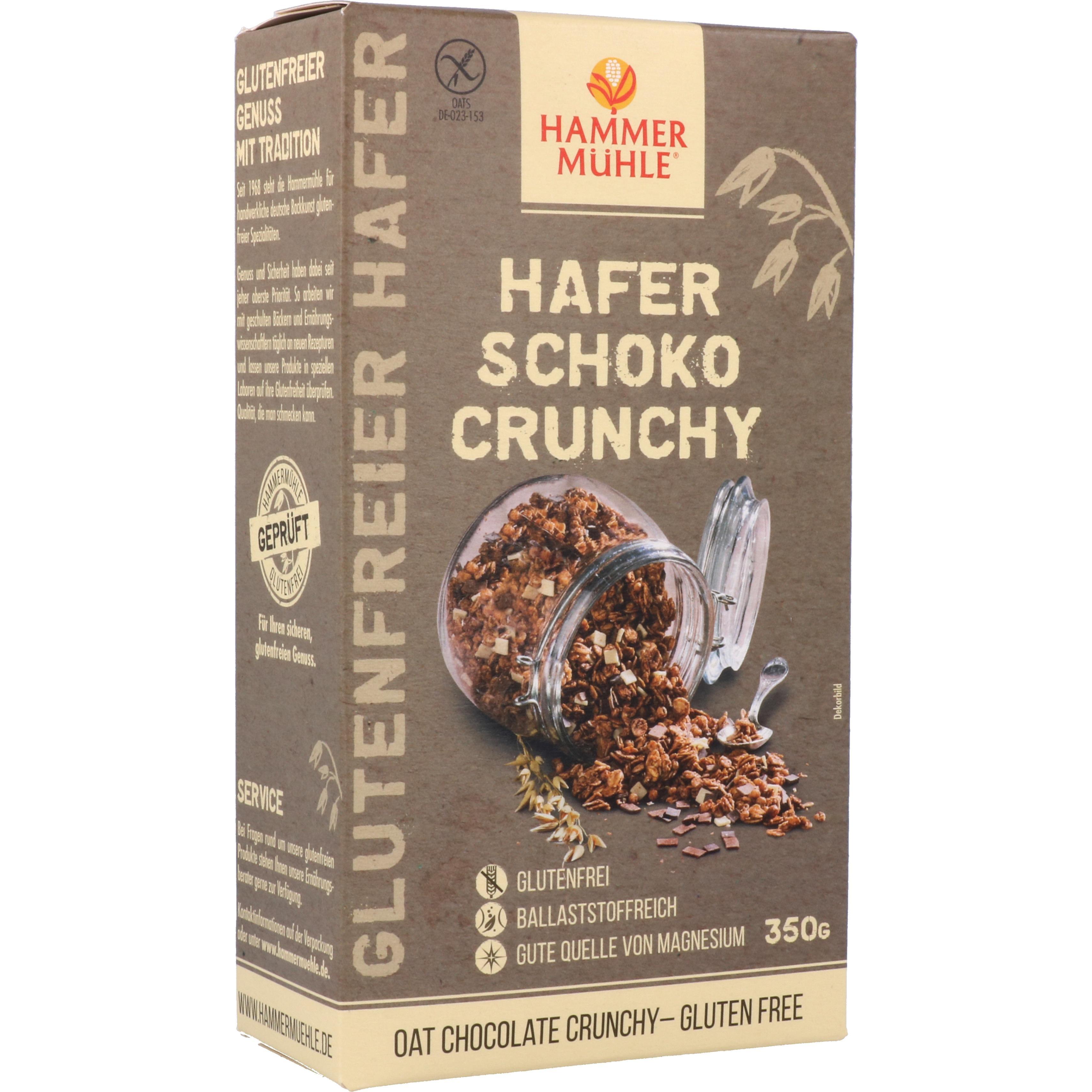 Hammermühle Hafer Schoko Crunchy 350g