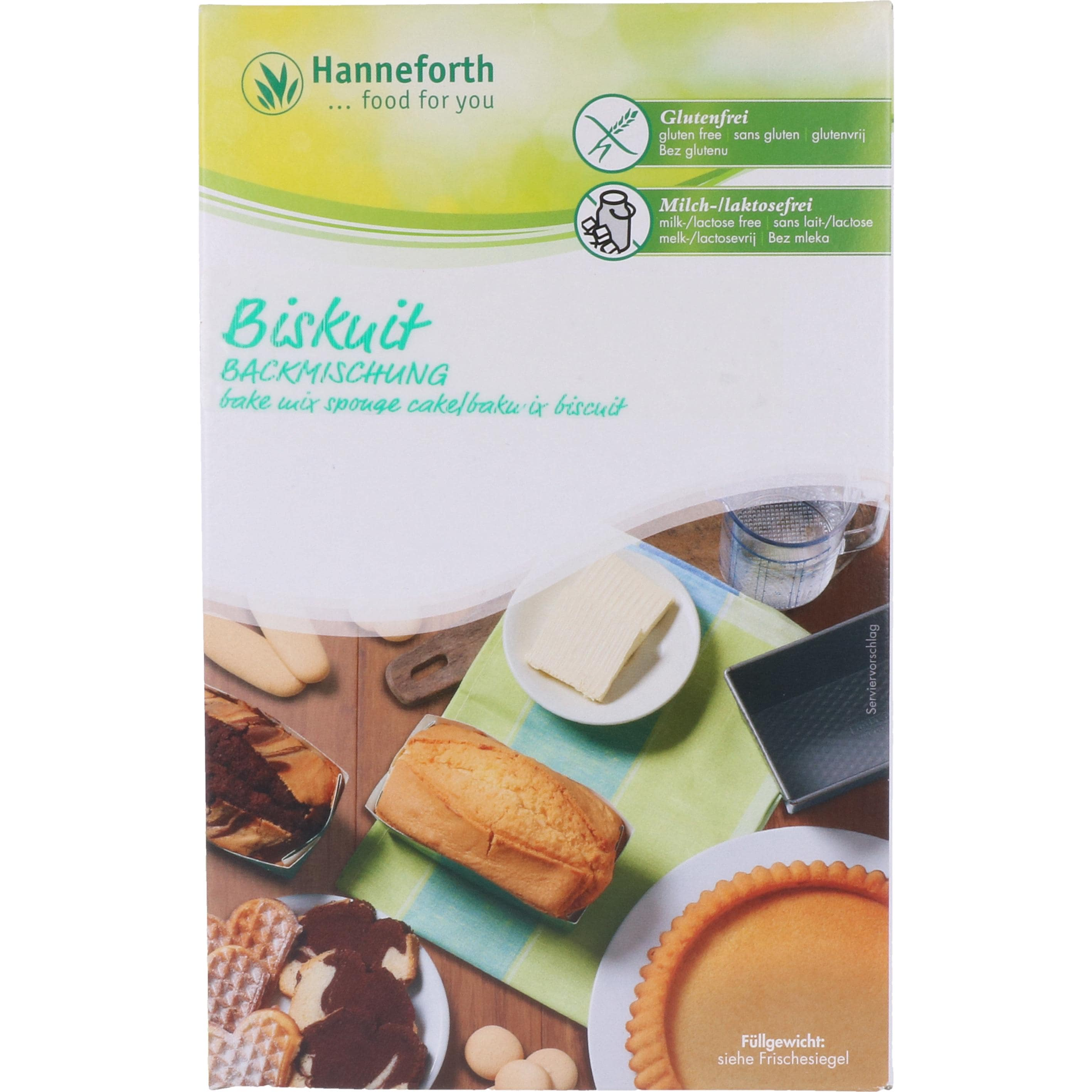 Hanneforth, food for you Backmischung für Biskuit 300g