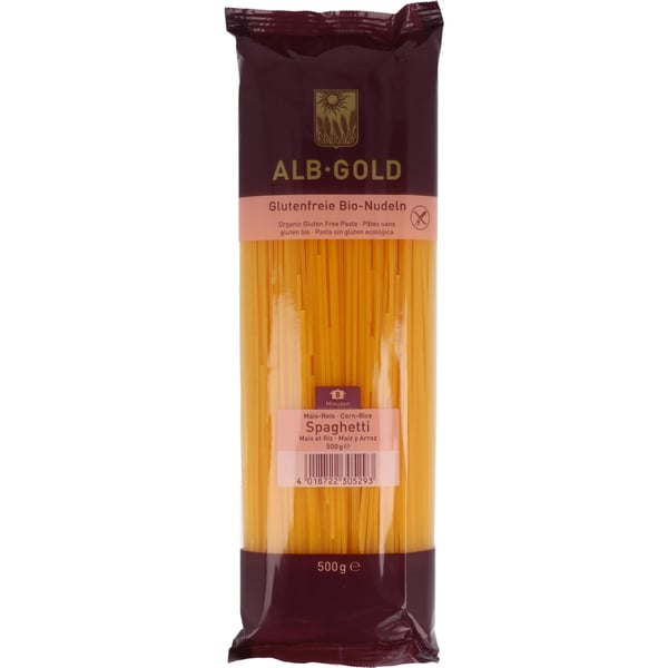 ALB-GOLD Bio Mais-Reis Spaghetti 500g