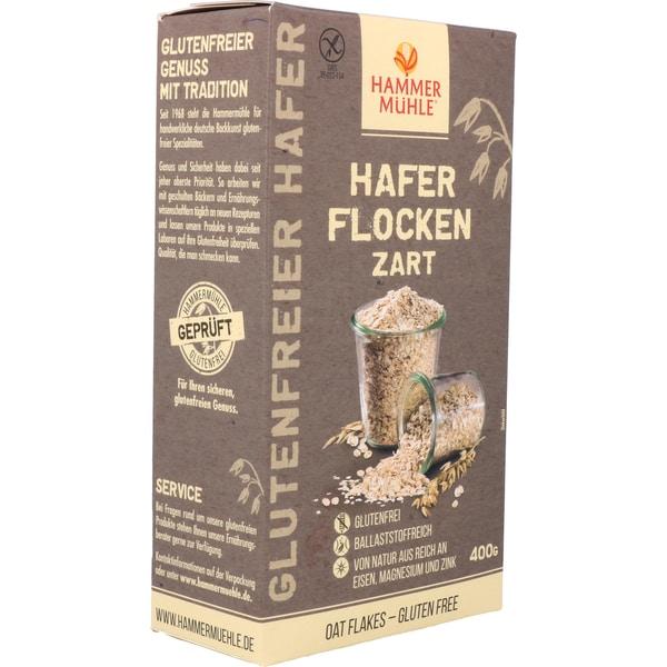 Hammermühle Hafer Flocken zart 400g