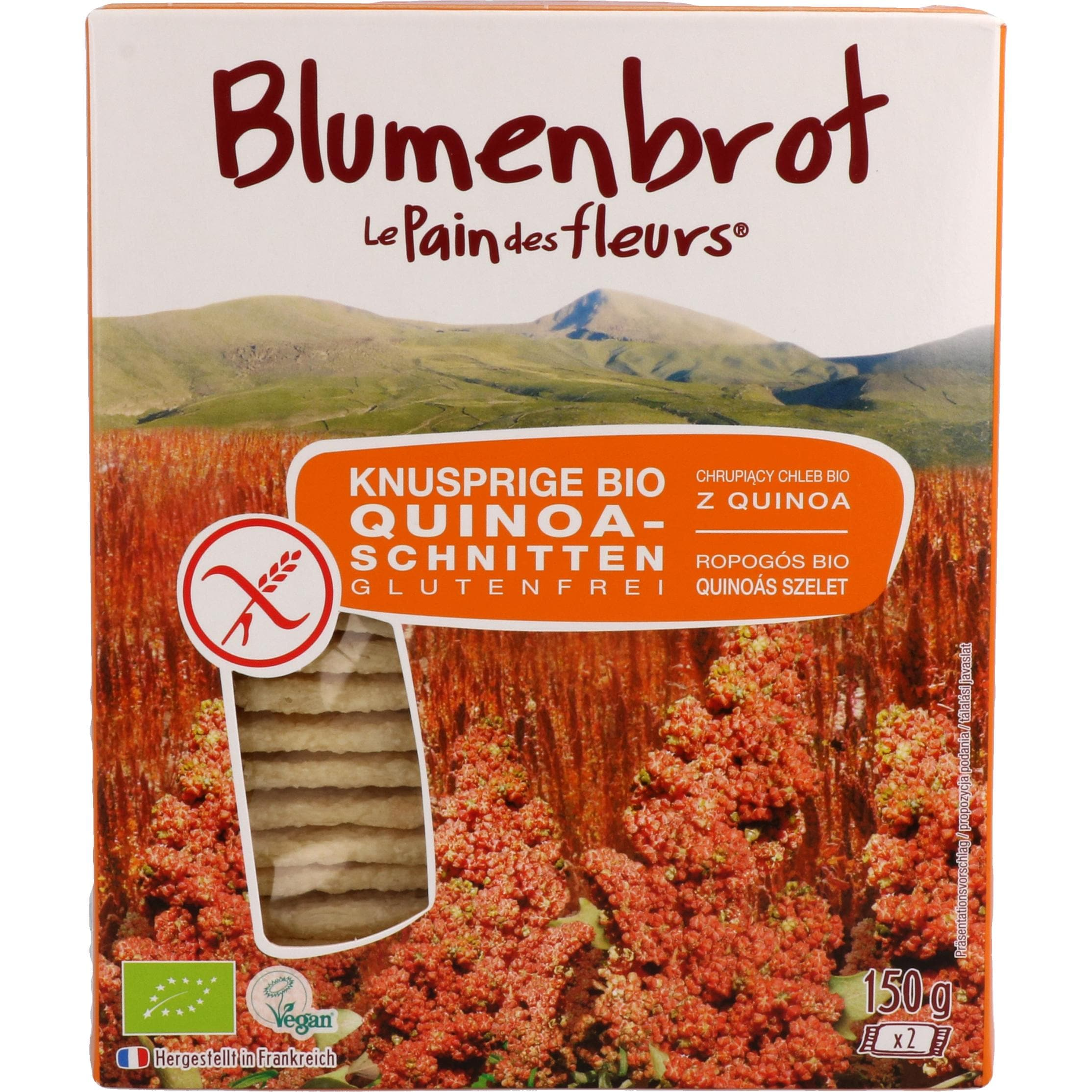 Primeal Bio Blumenbrot Quinoa 150g
