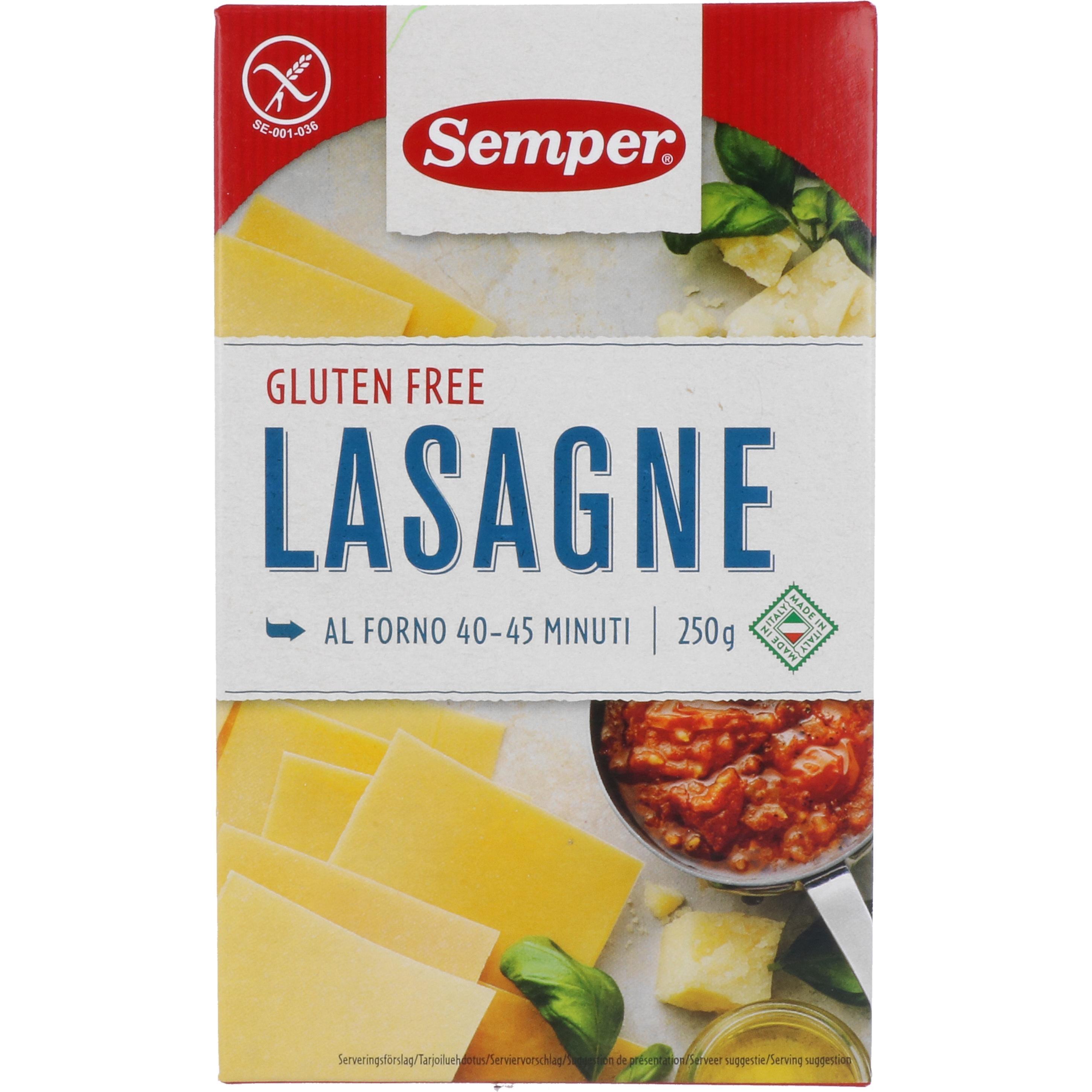 Semper Lasagne 250g