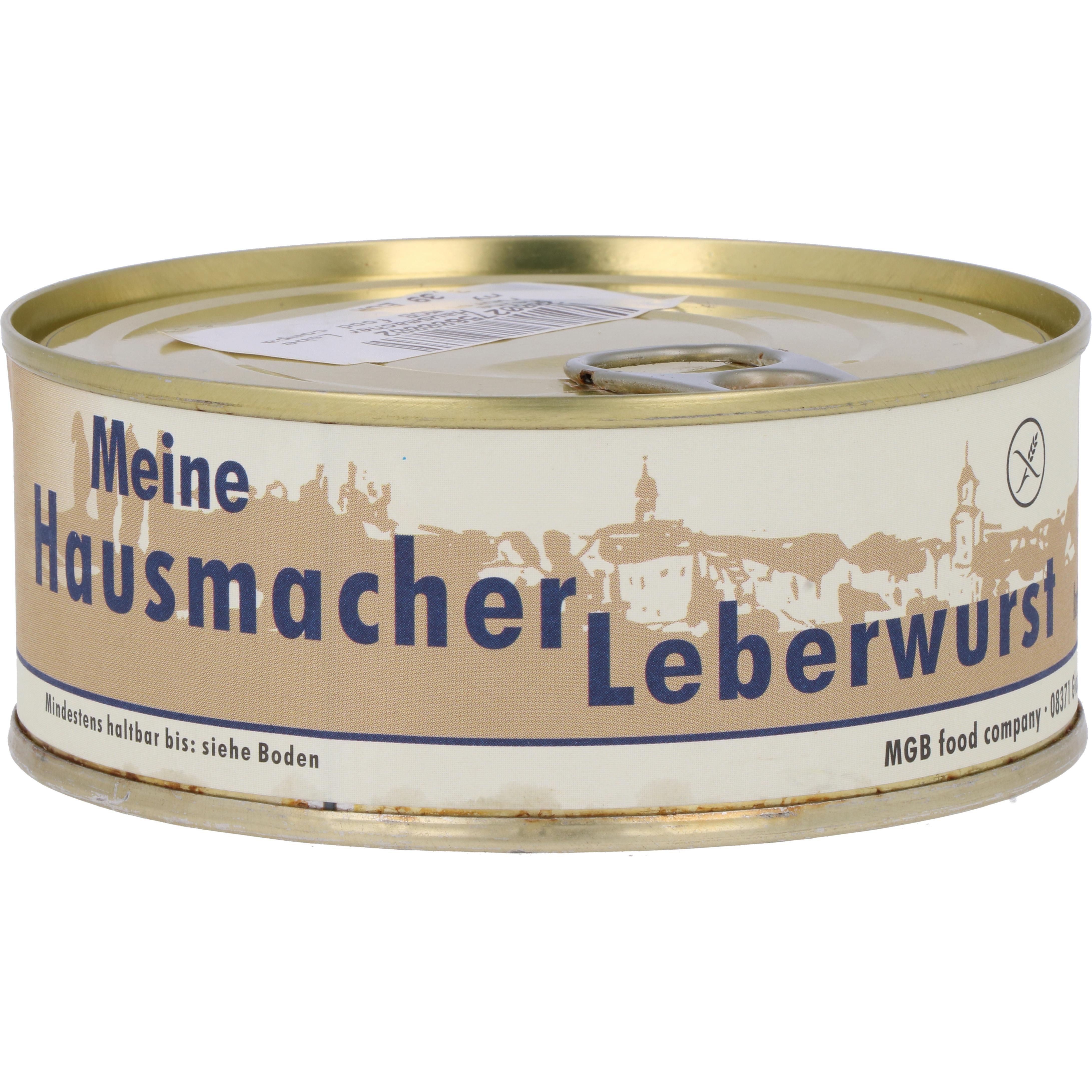 MGB food company Meine Hausmacher Leberwurst 220g