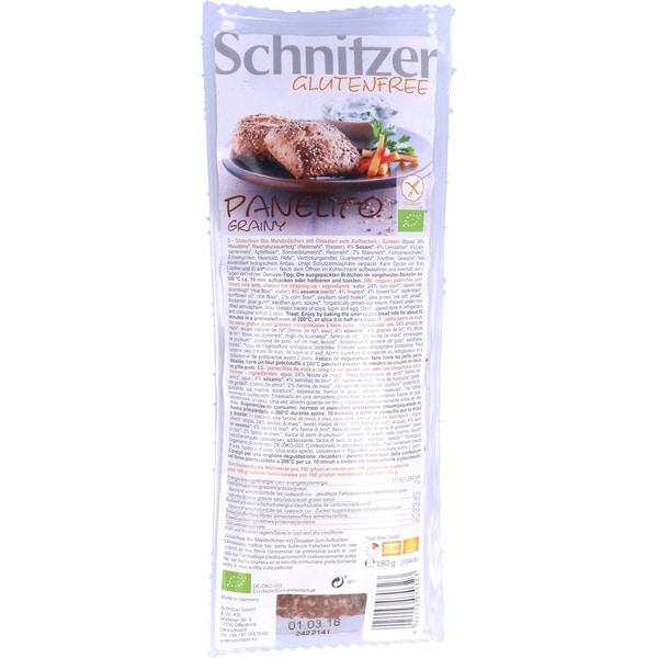 Schnitzer Bio Panelito Grainy 180g
