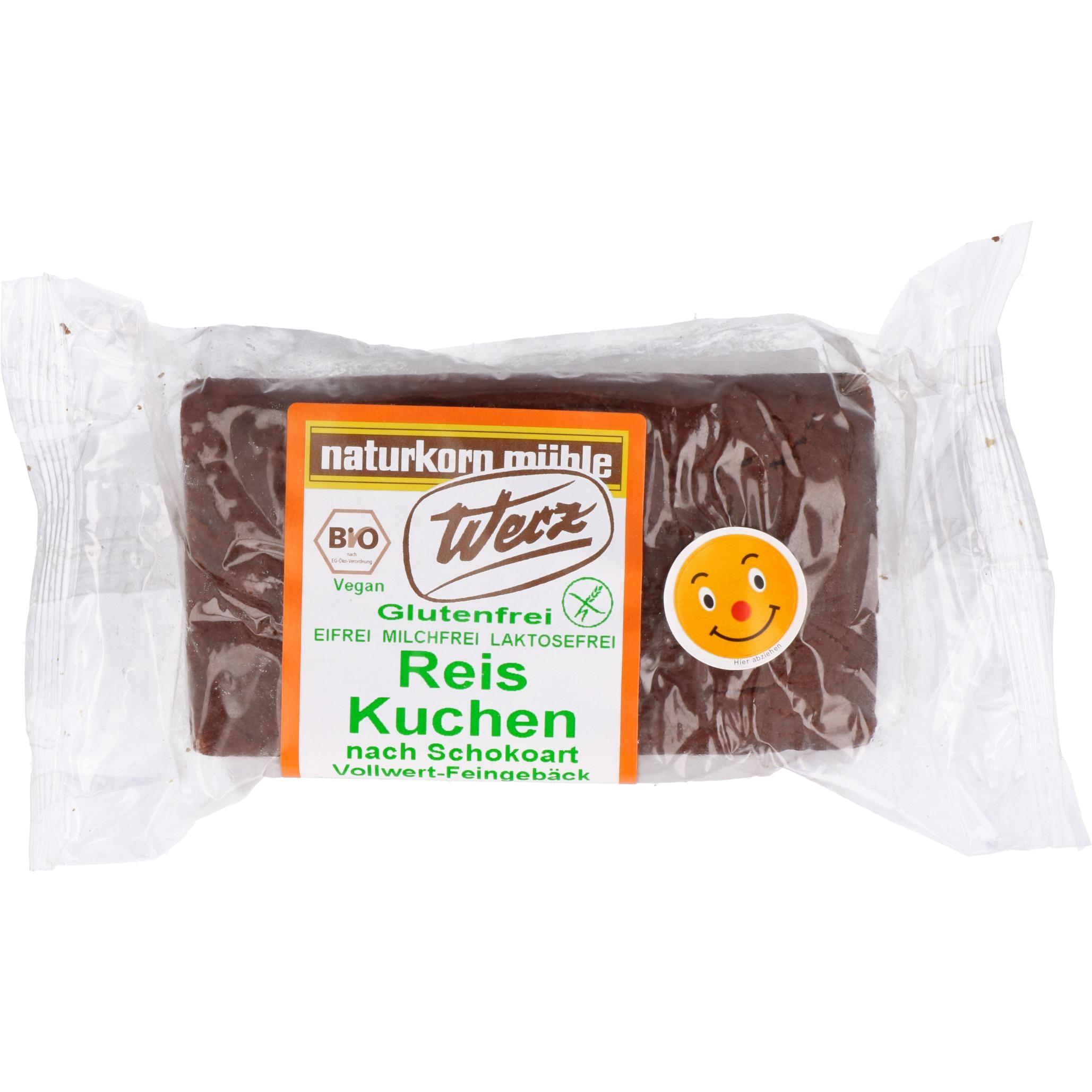 Werz Bio Reis Kuchen nach Schokoart 300g