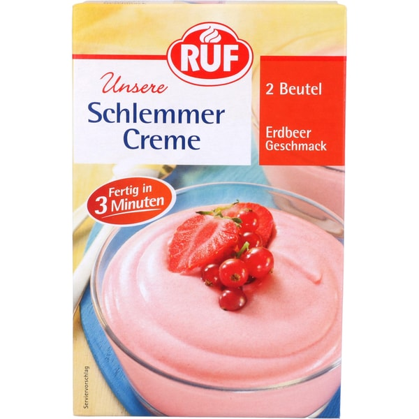 Ruf Schlemmercreme Erdbeer 140g