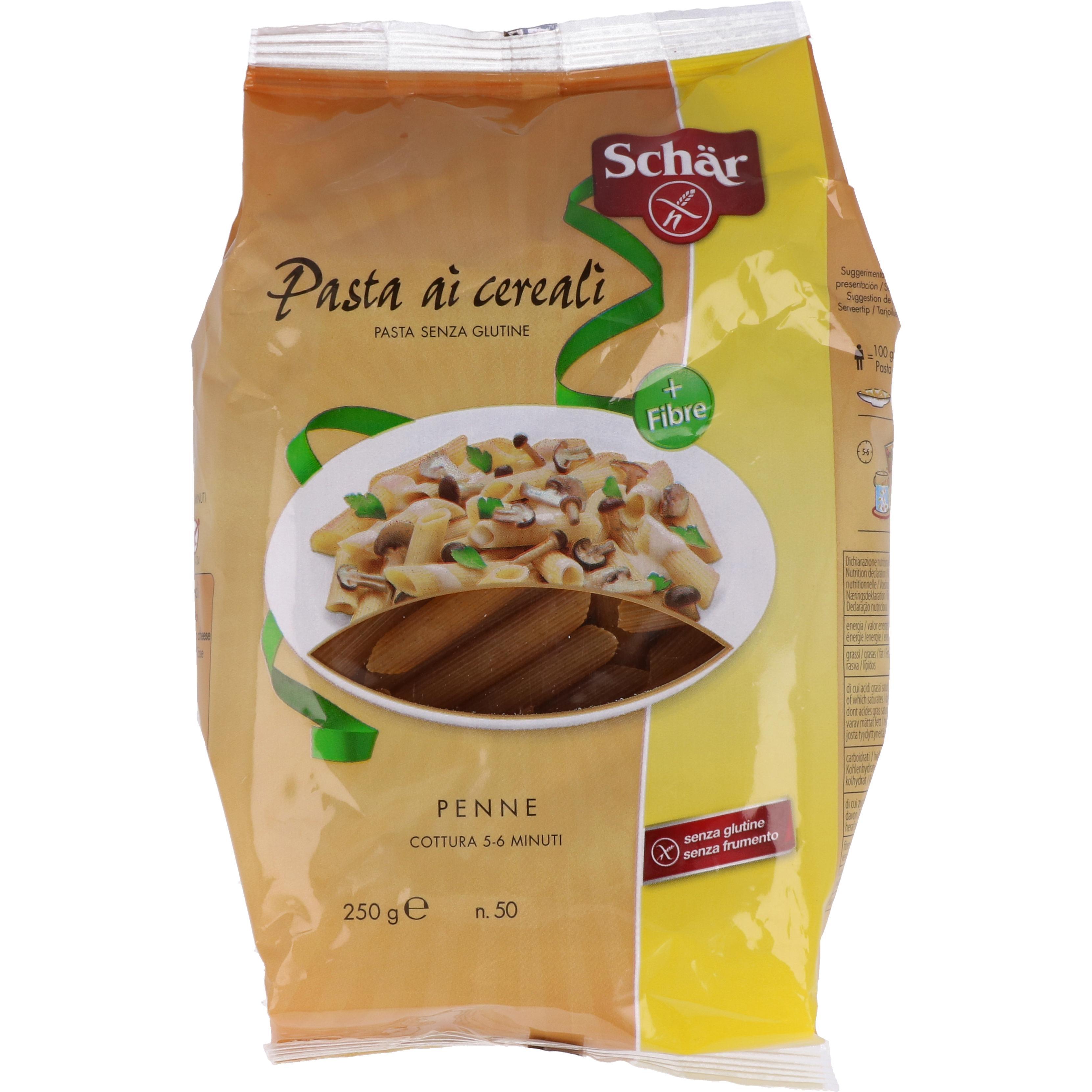 Schär Mehrkorn Penne - Pasta ai cereali 250g