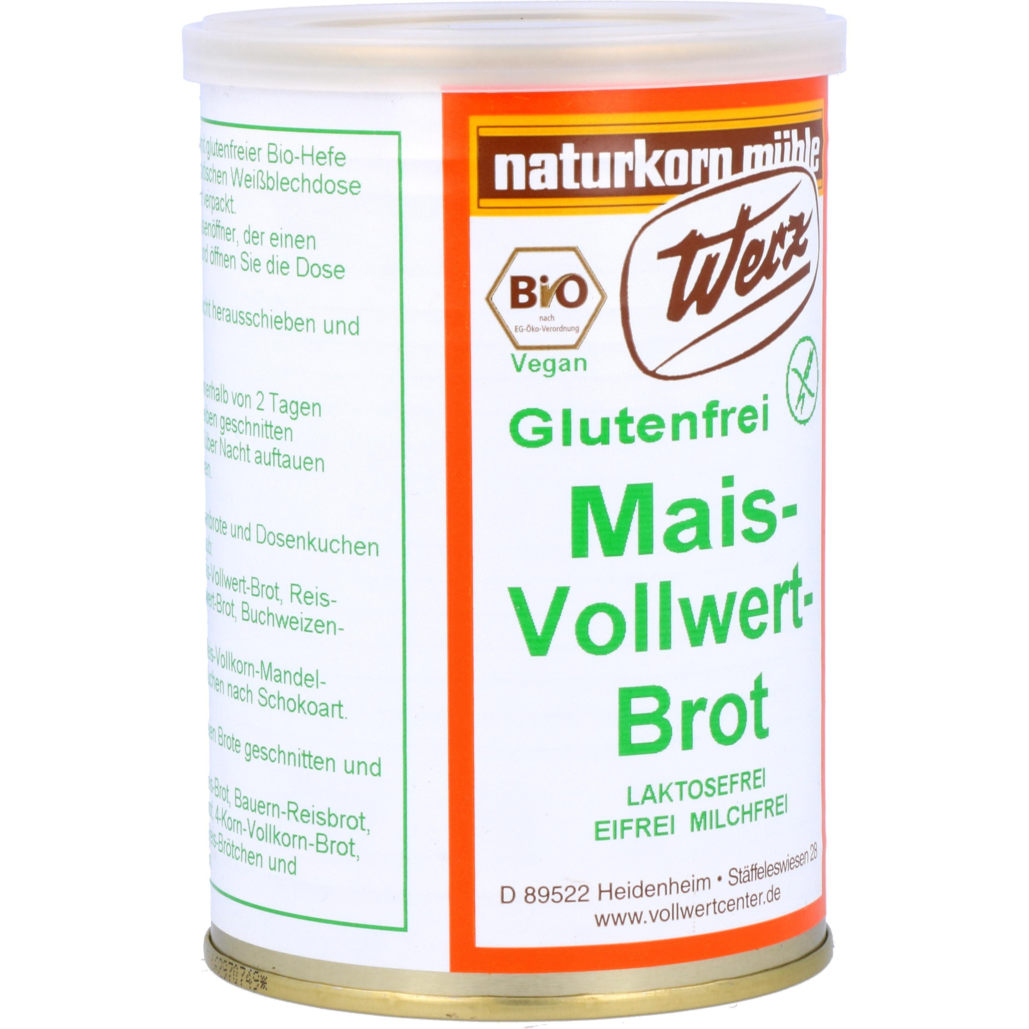 Werz Bio Mais-Vollwert-Brot - Dose 250g