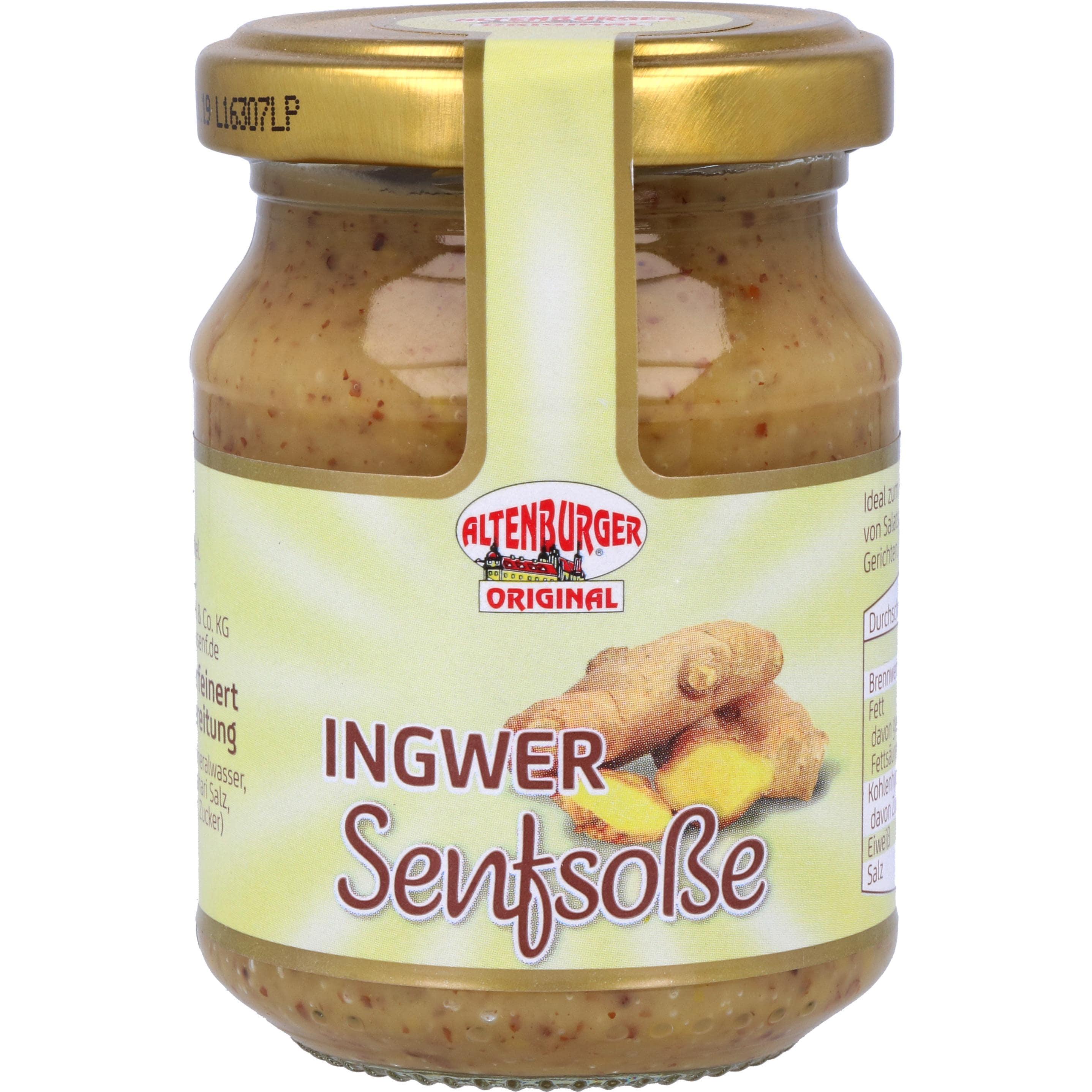Altenburger Ingwer Senfsoße 160g