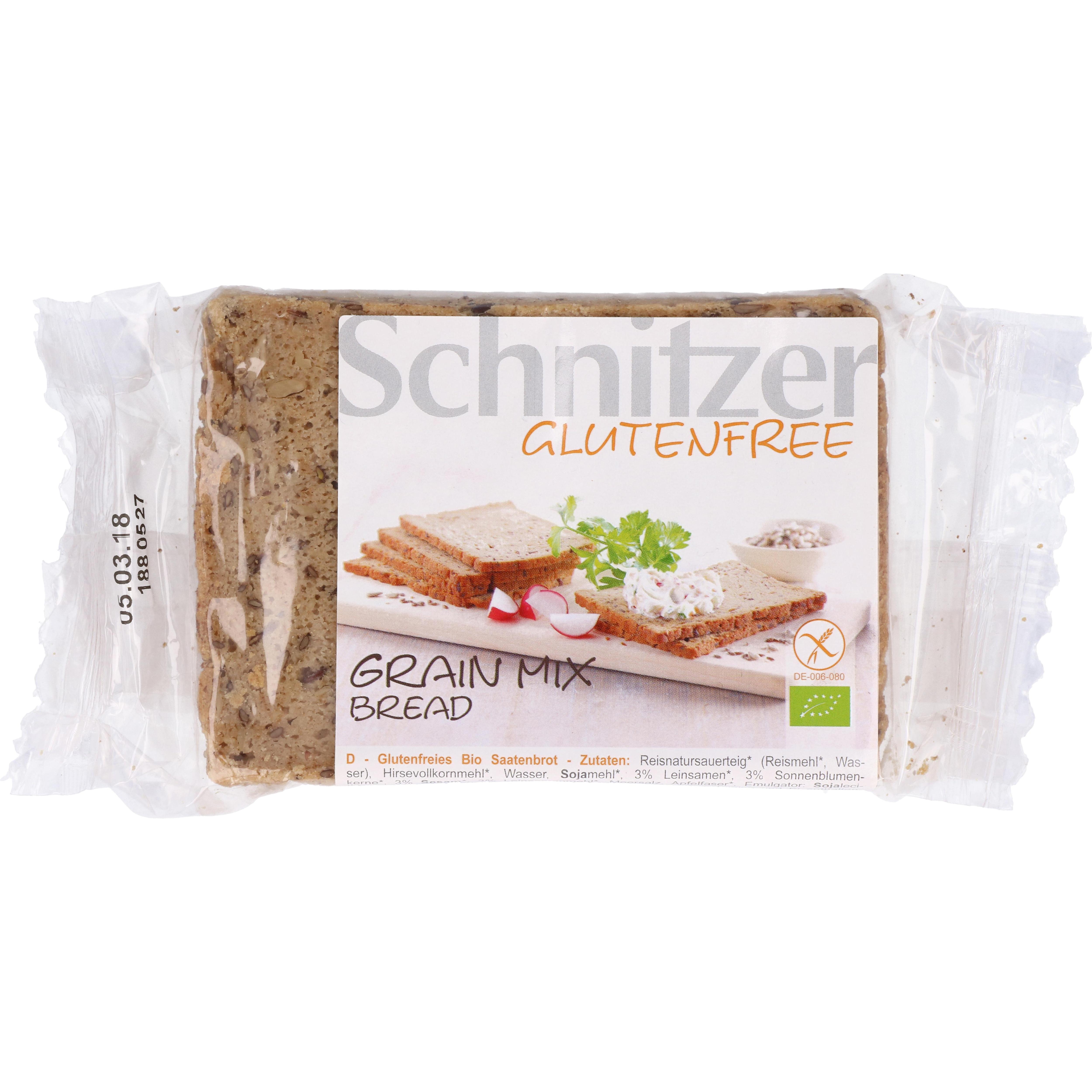Schnitzer Bio Grain Mix Bread 250g