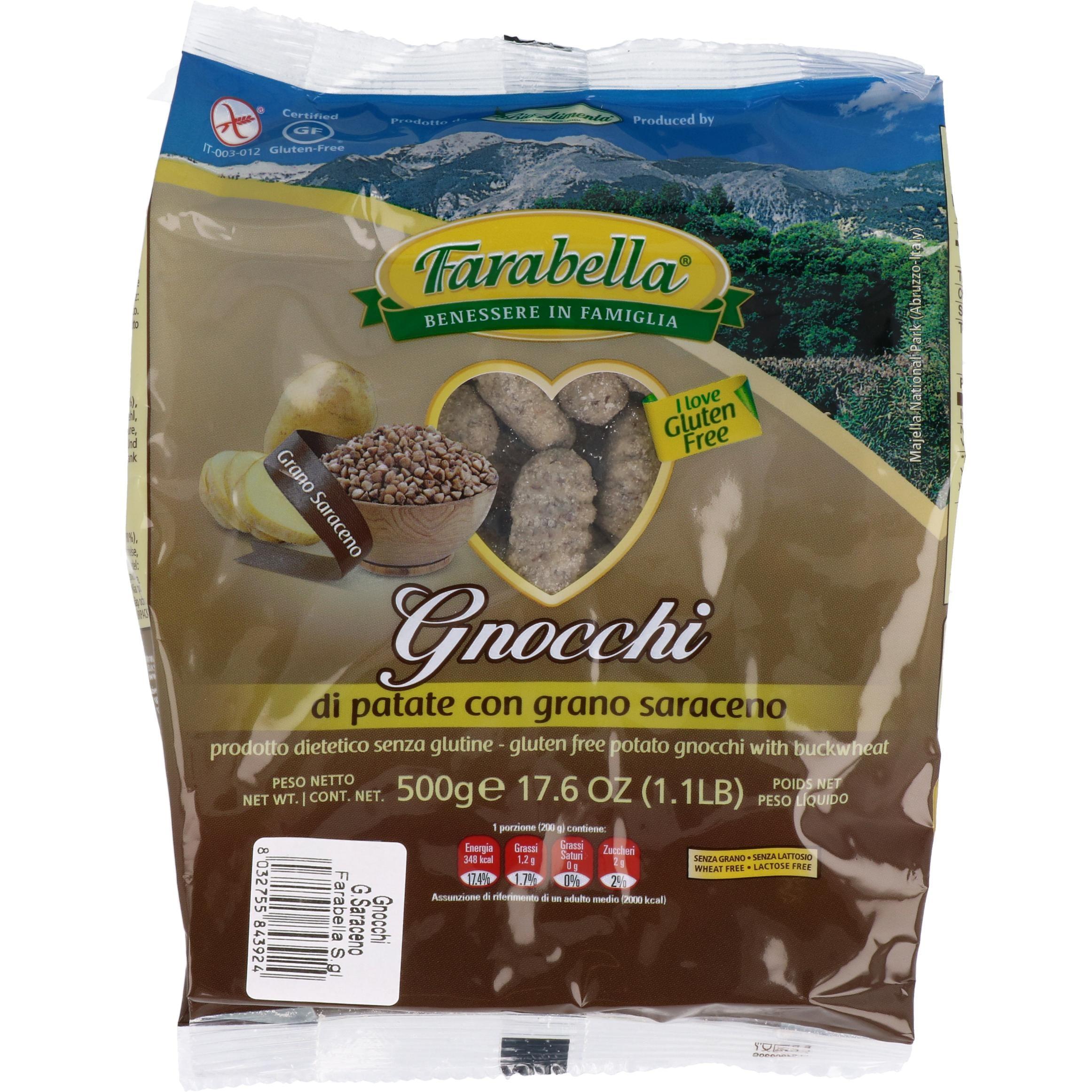 Farabella Gnocchi al saraceno Buchweizen 500g