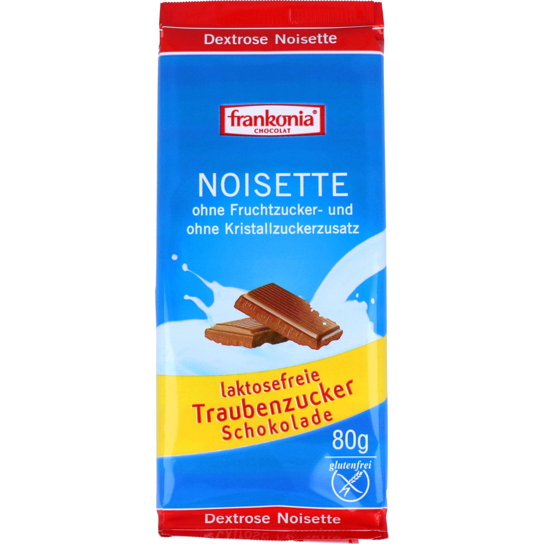 Frankonia Dextrose Noisette Schokolade 80g