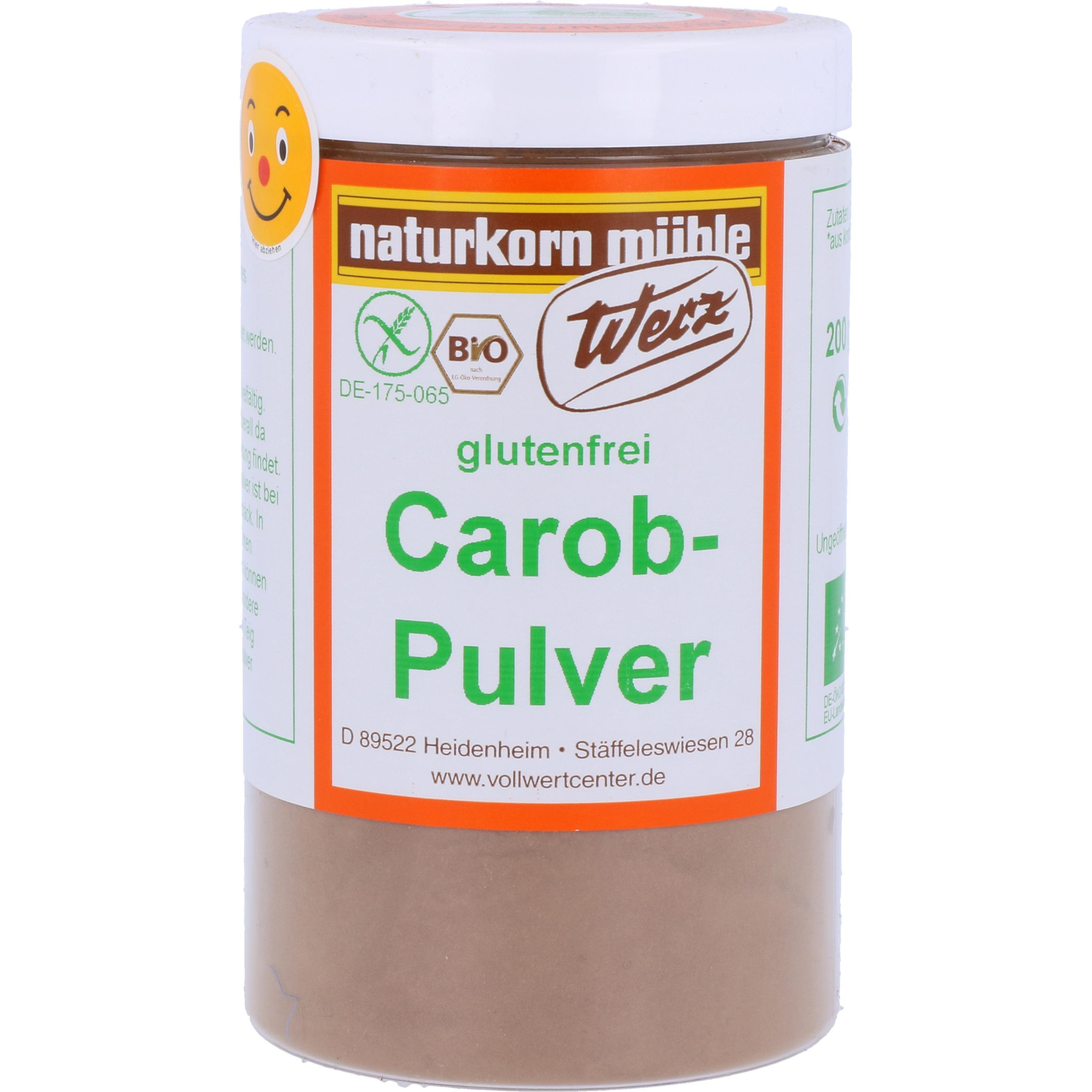 Werz Bio Carob Pulver 200g