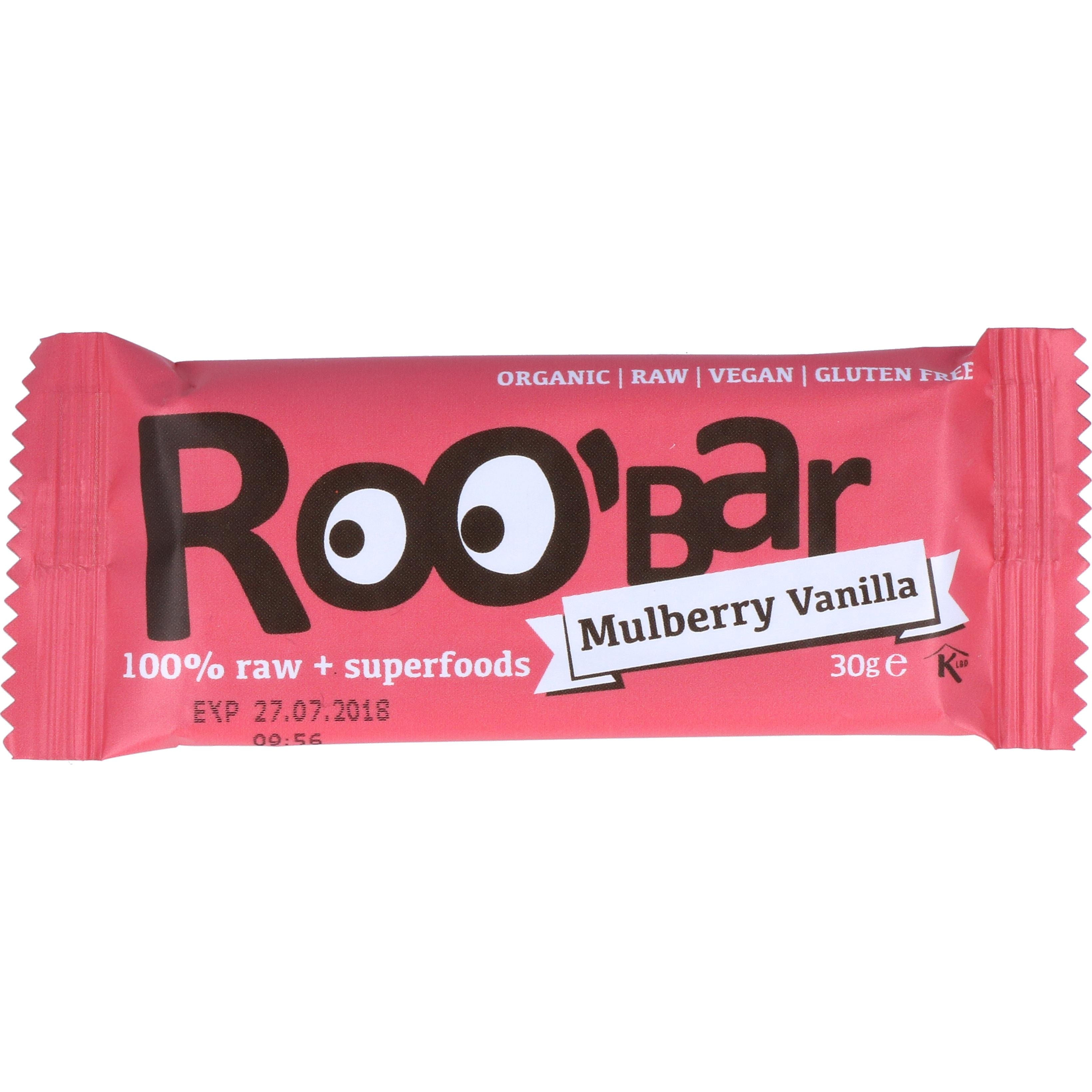 Organic Friends & Sports Gmb Roobar - Bio Maulbeere & Vanille 30g