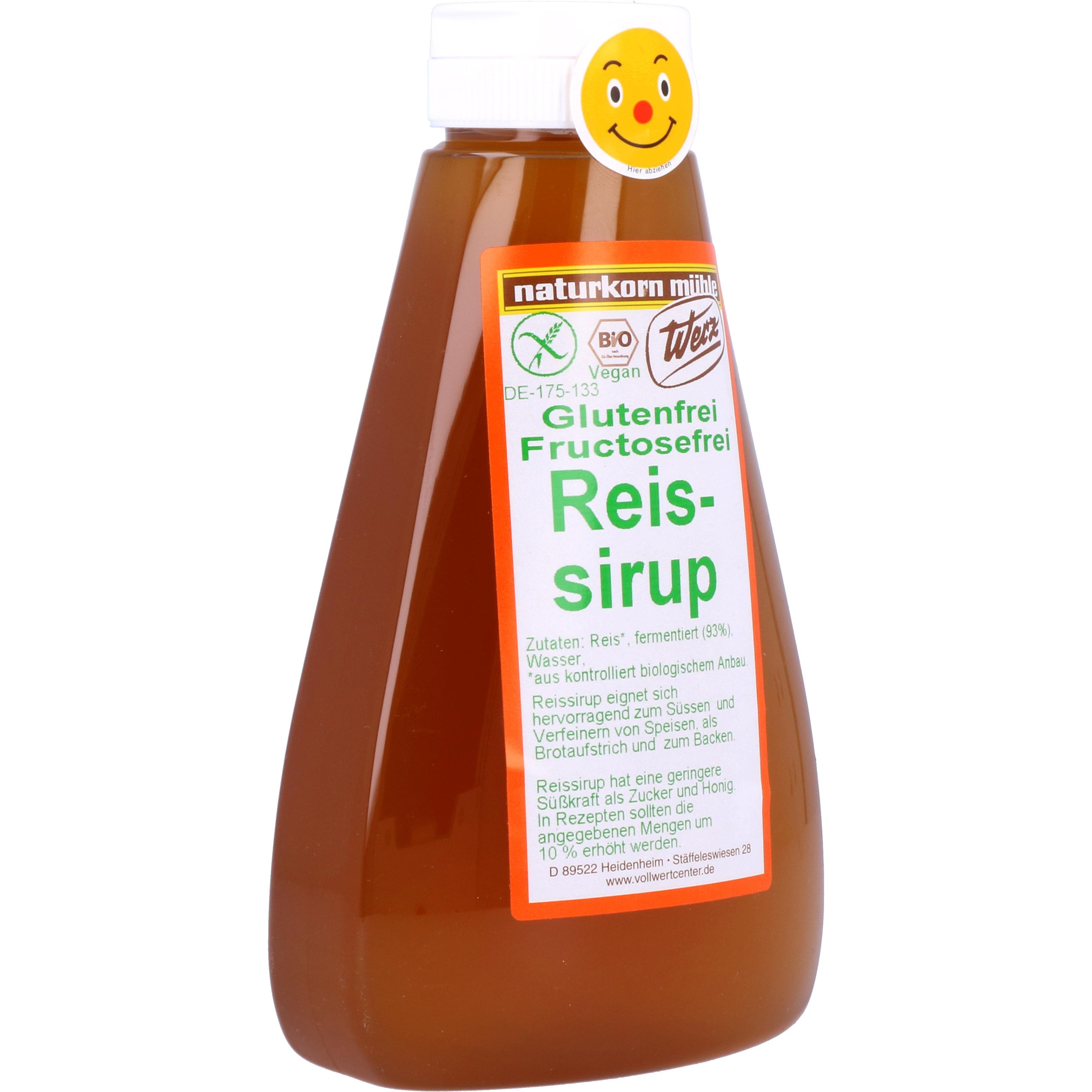 Werz Bio Reissirup 600g