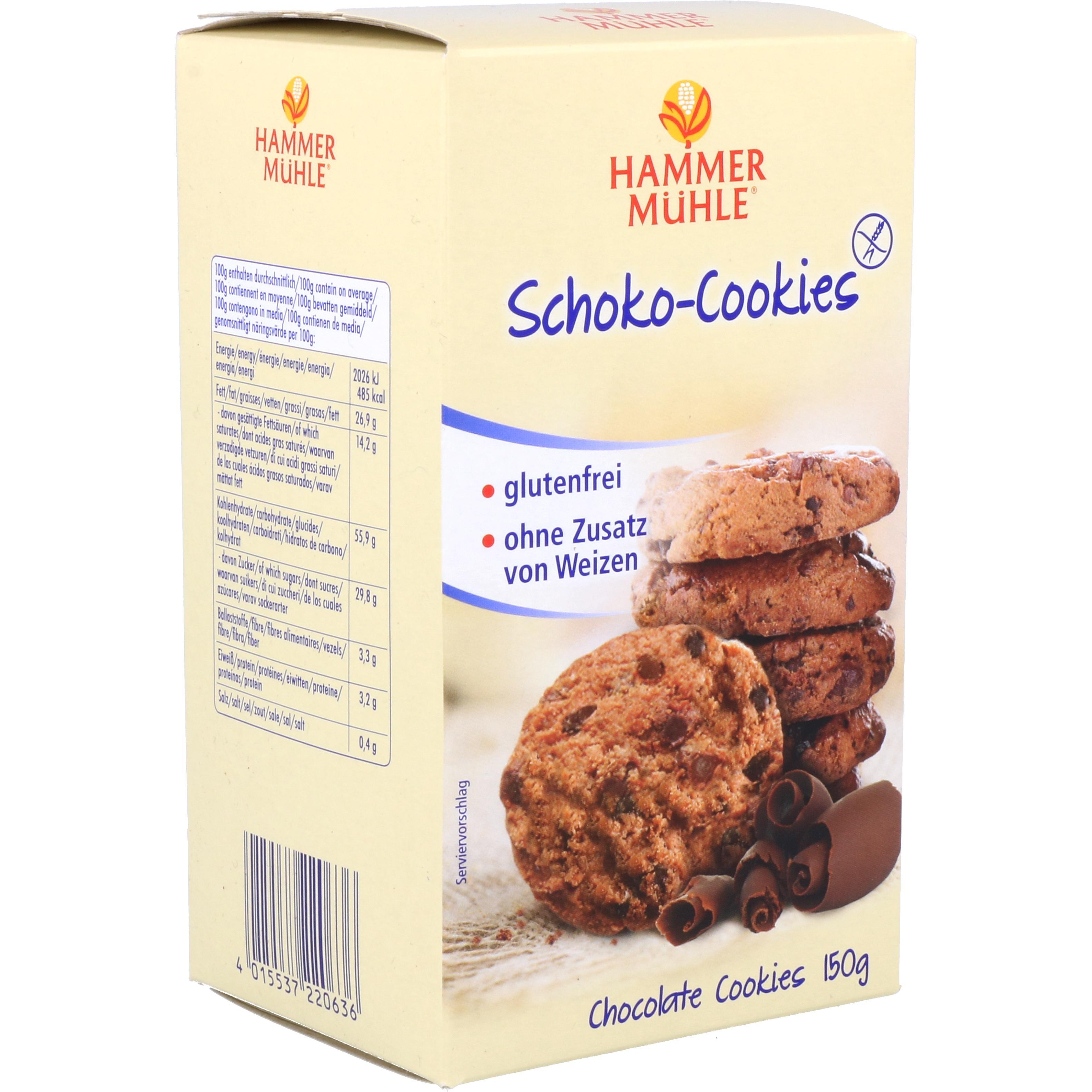 Hammermühle Schoko-Cookies 150g
