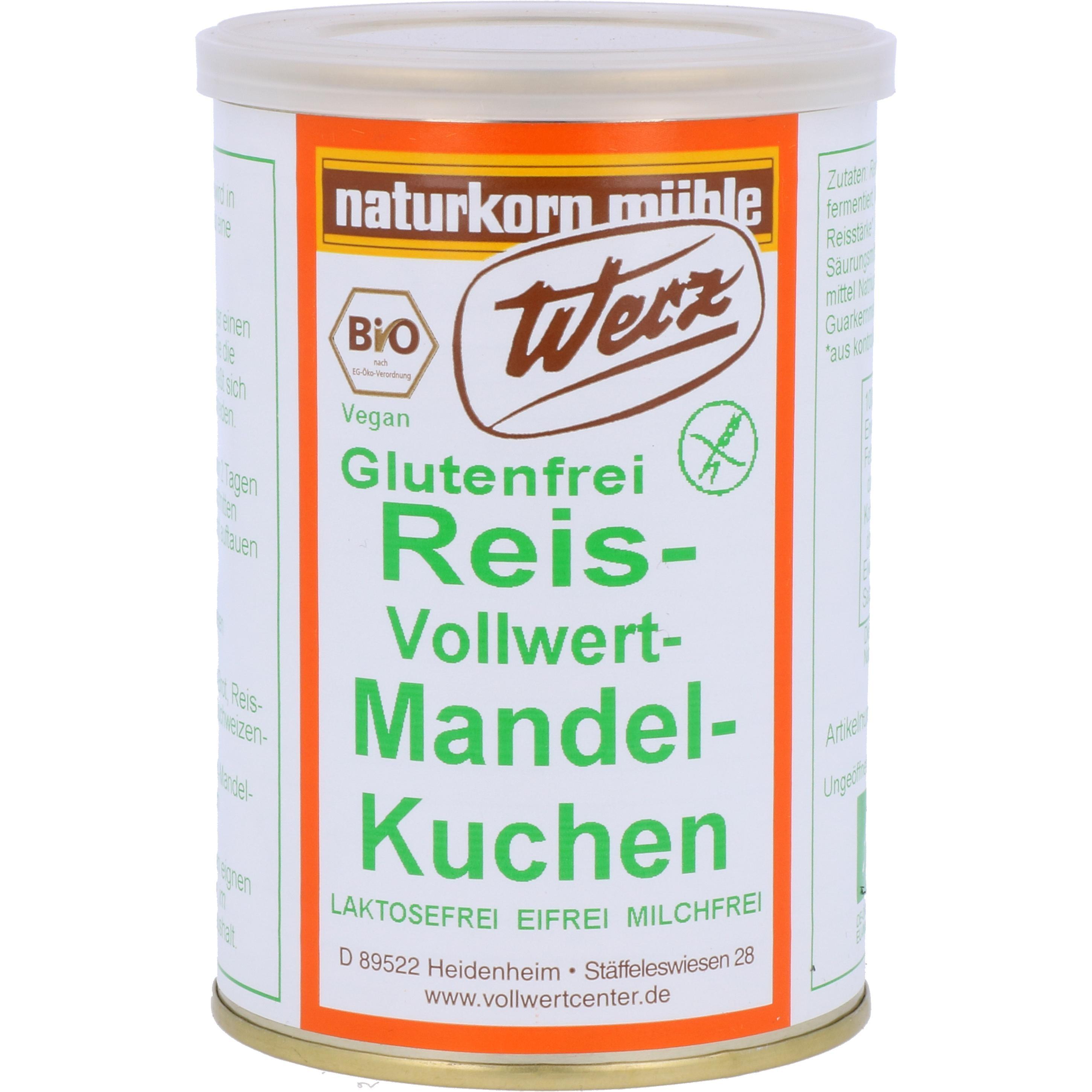 Werz Bio Reis-Vollwert-Kuchen - Dose 250g