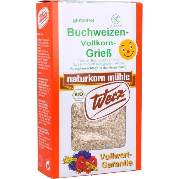 Werz Bio Buchweizen-Vollkorn-Grieß 250g