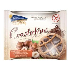 Piaceri Mediterranei Crostatine con crema di nocciole 50g
