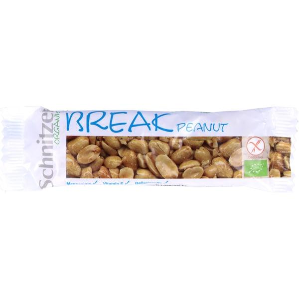 Schnitzer Bio Peanut - Erdnussriegel Break 40g