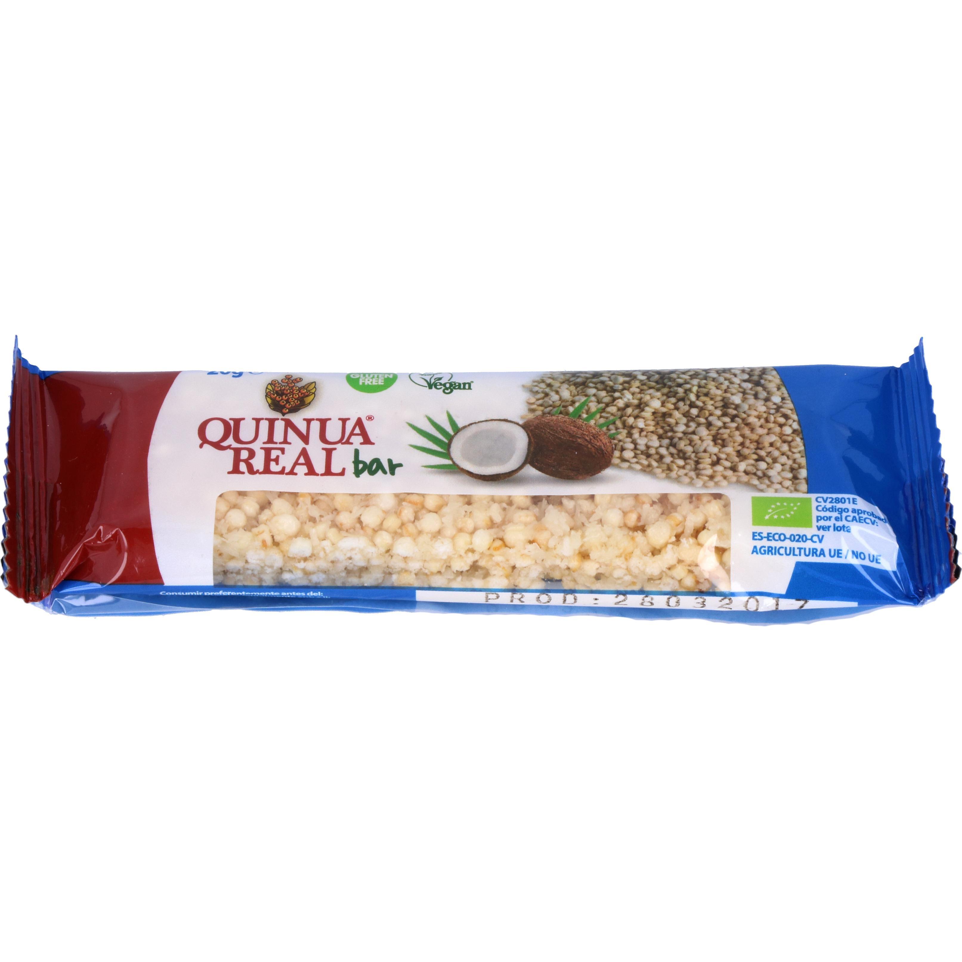 Quinua Real Bio Quinoa-Riegel mit Kokosflocken 20g