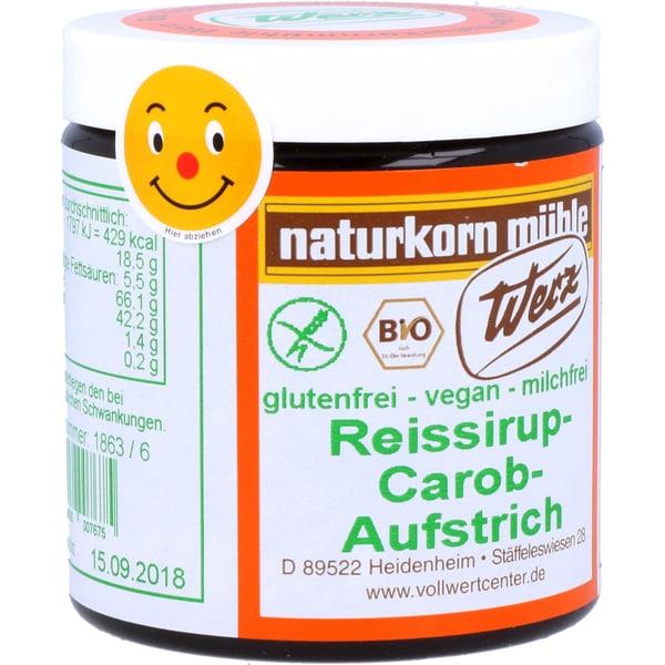 Werz Bio Reissirup-Carob-Aufstrich 300g
