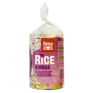 Lima Bio Reiswaffeln mit Quinoa 100g
