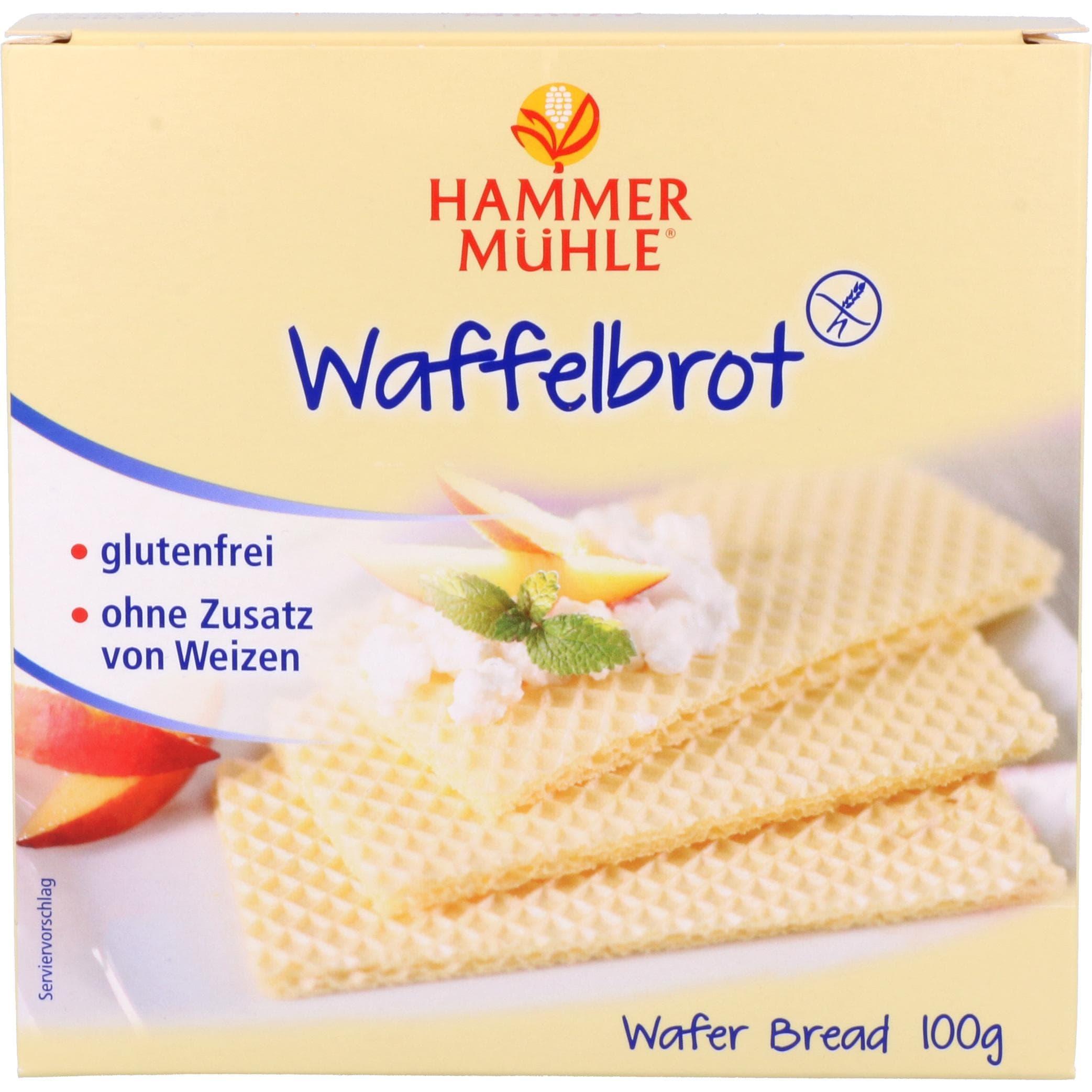 Hammermühle Waffelbrot 100g