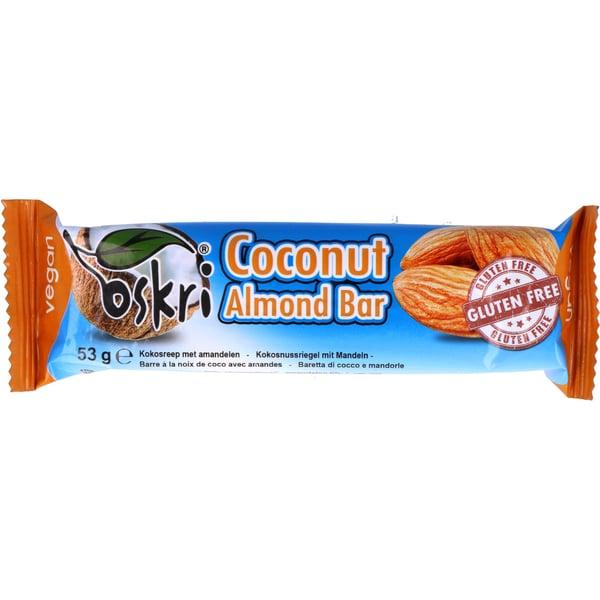 Oskri Organics Coconut Almond Bar 53g